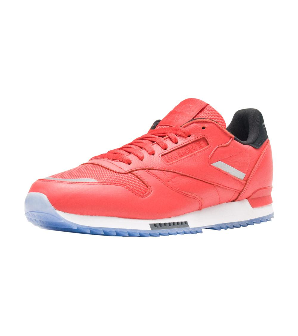 701dc7bd1a60 Lyst - Reebok Classic Leather Ripple Sneaker in Red for Men