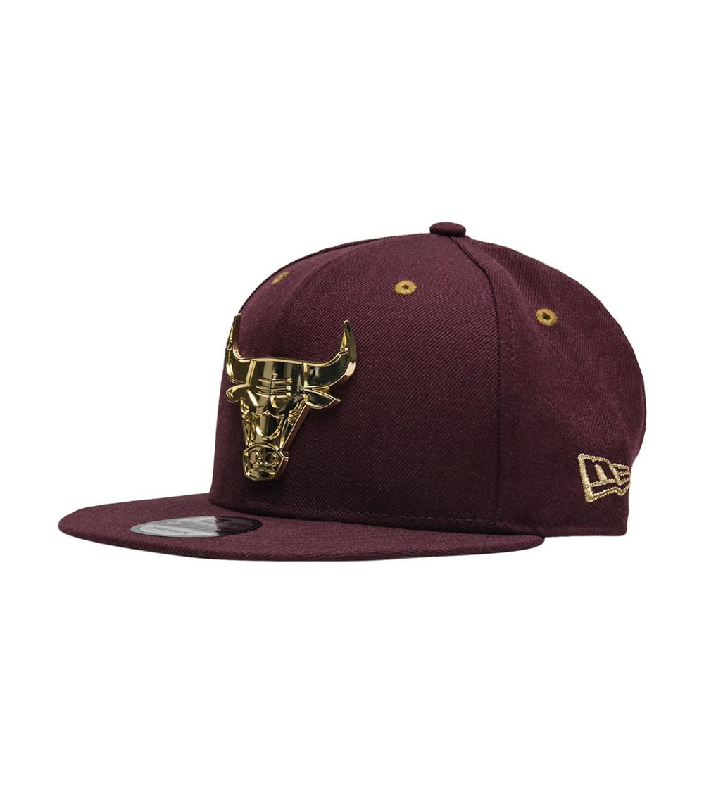 Ktz Chicago Bulls Glossy Metal Snapback for Men - Lyst e061141c9a7