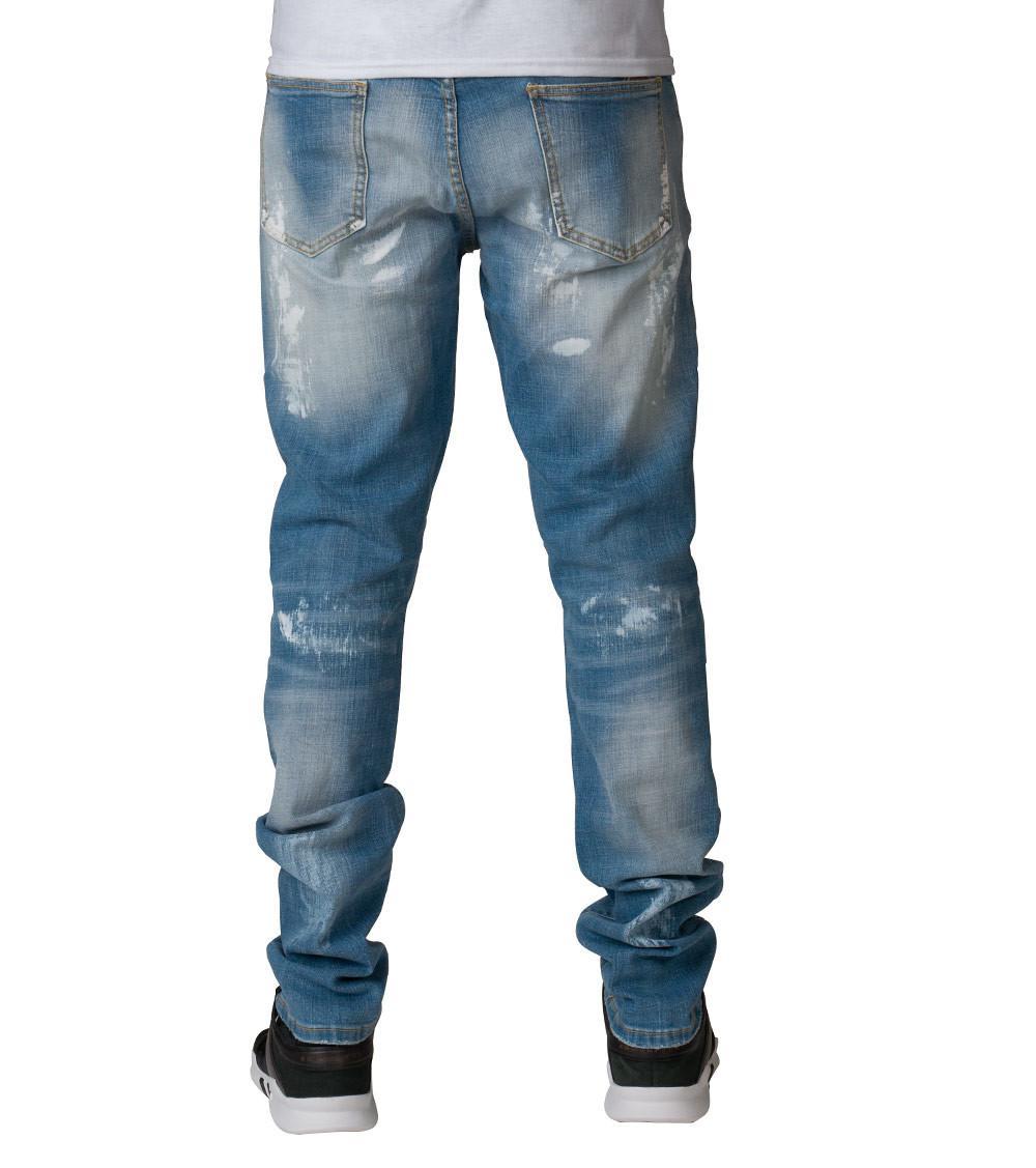 e62a4d69255fe0 Crysp Ali Rip N Repair Jeans in Blue for Men - Lyst