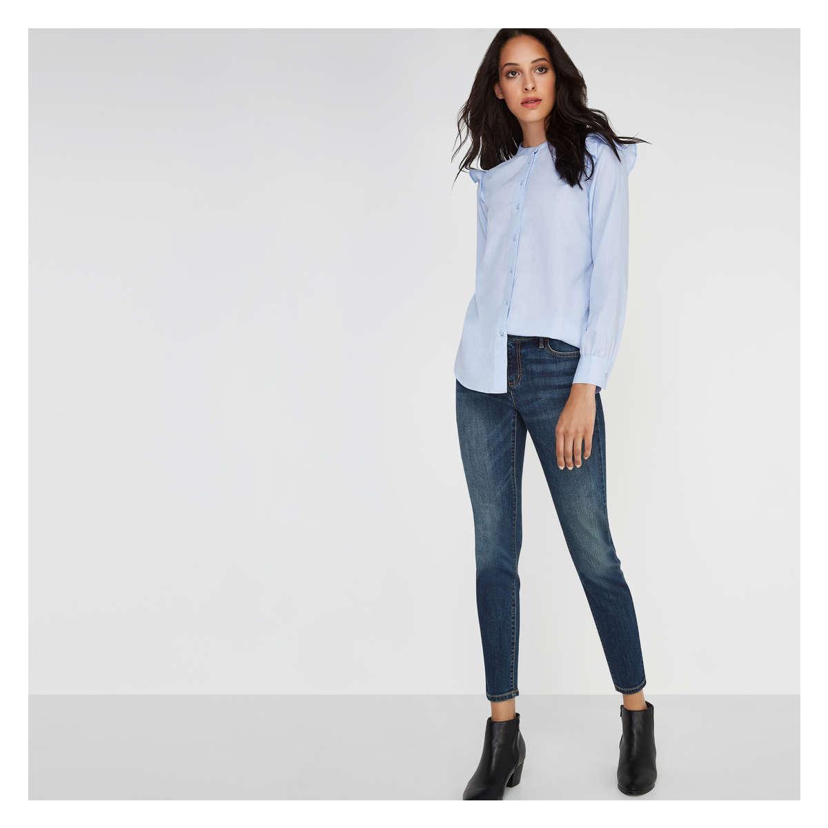 41360300485 Lyst - Joe Fresh Classic Slim Fit Jean in Blue