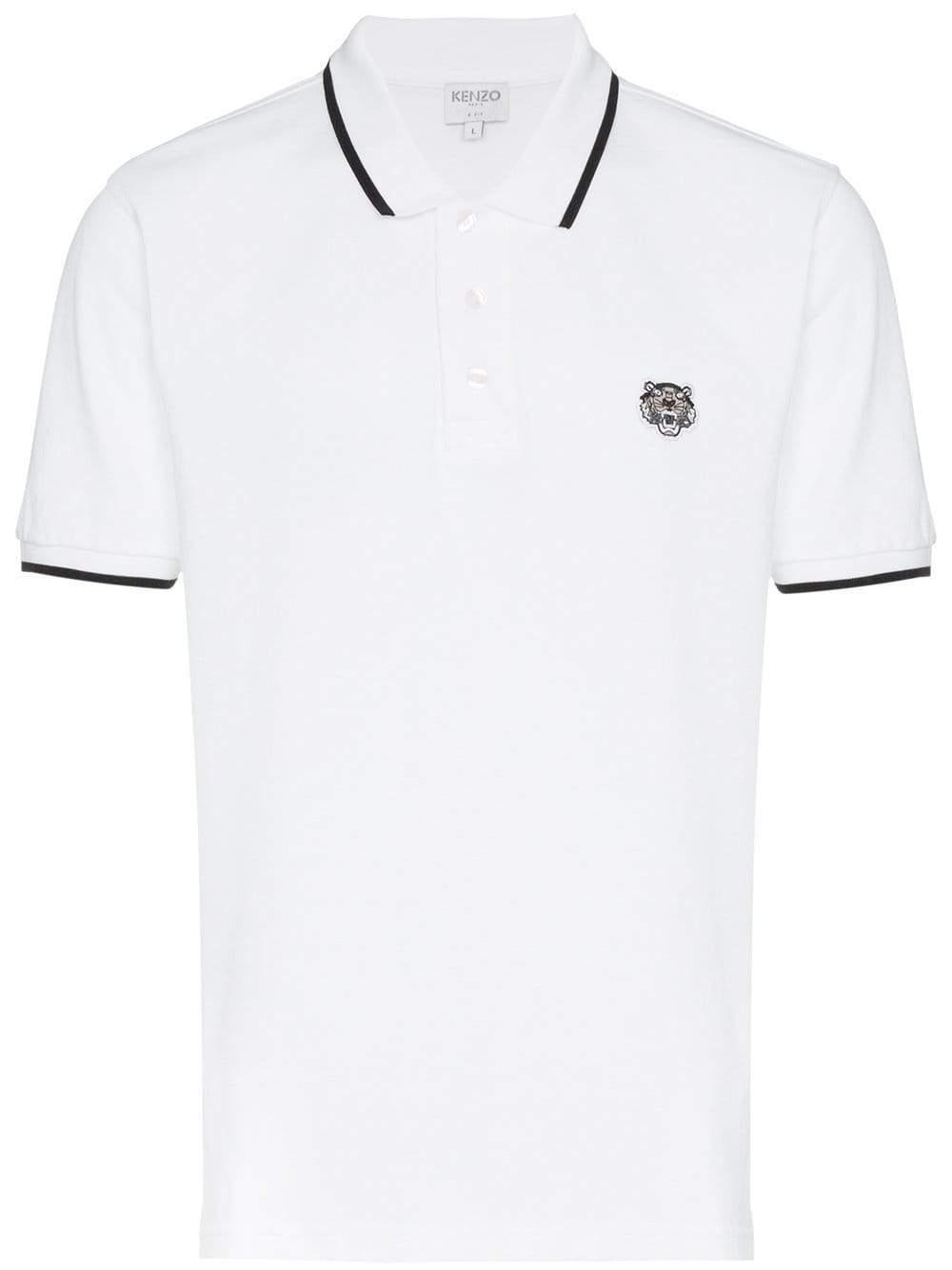 46fee34f64c0 KENZO - White K Fit Tiger for Men - Lyst. View fullscreen