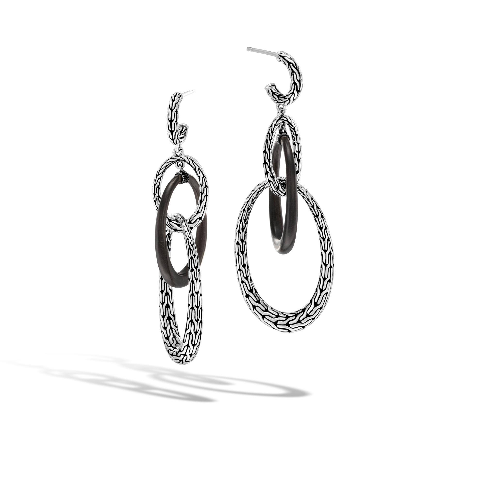 John Hardy Classic Chain Teardrop Briolette Earrings lfH9zWbOw1