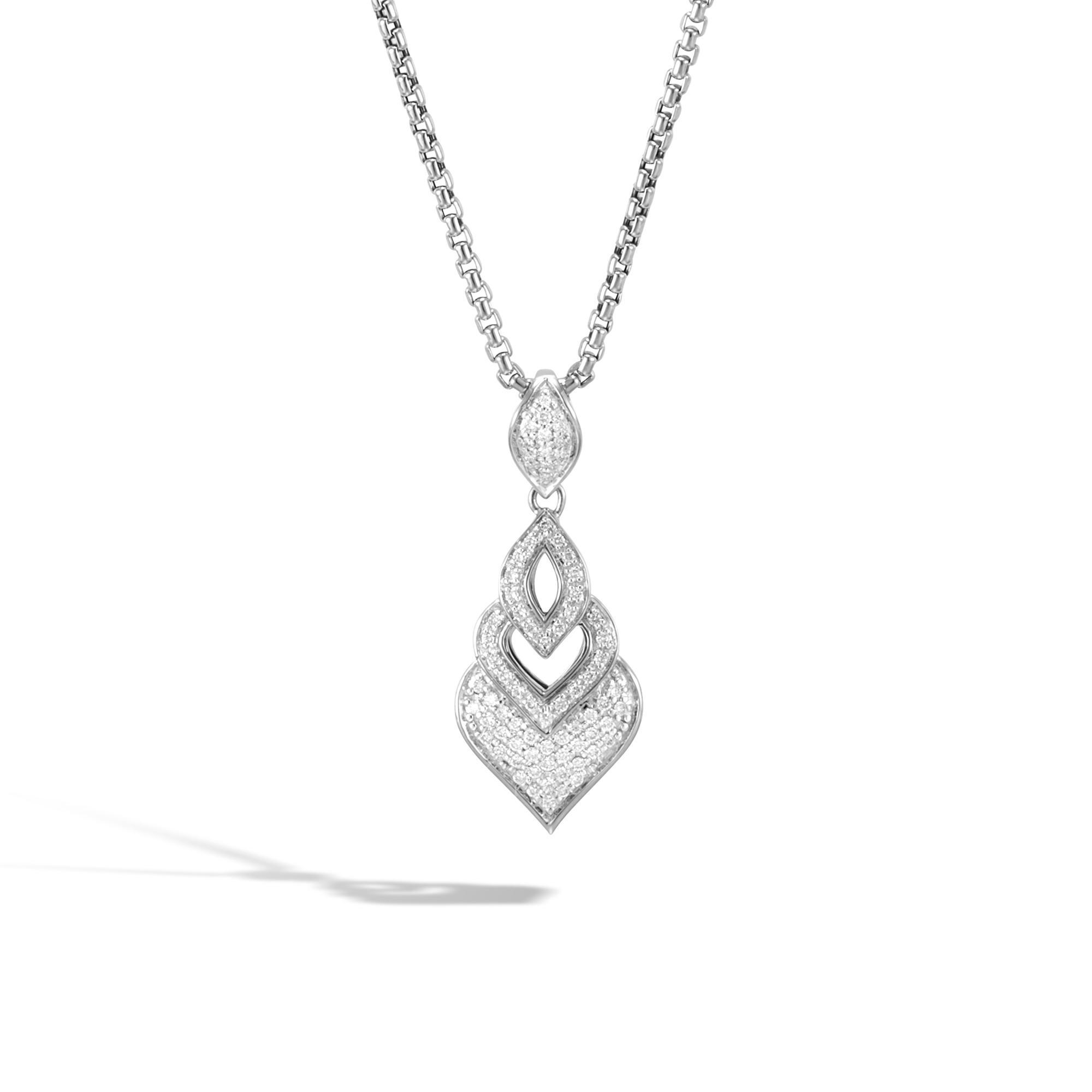 John Hardy Naga Lariat Necklace, Labradorite And Diamonds