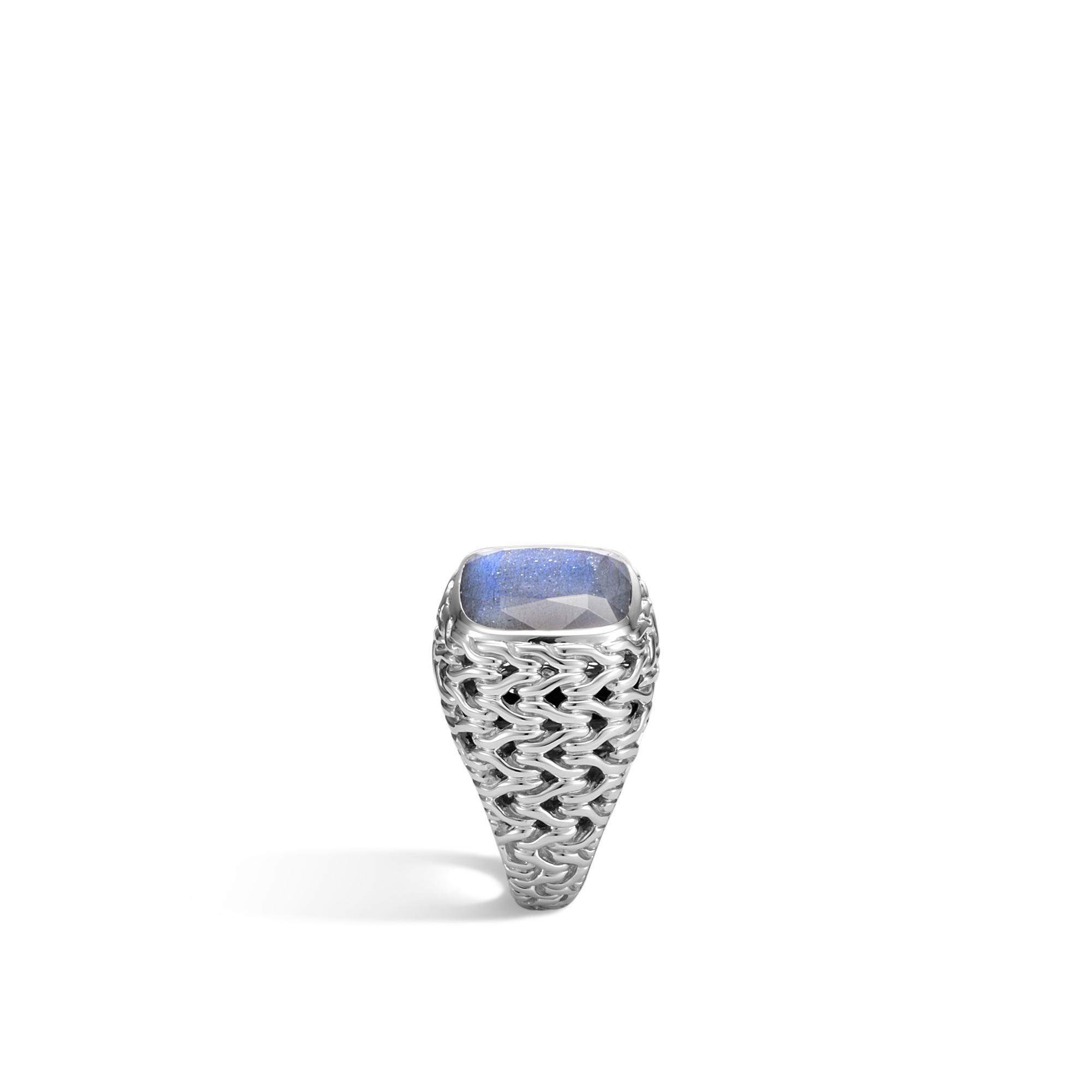 John Hardy Magic Cut Ring In Silver With Labradorite qxwu9trM