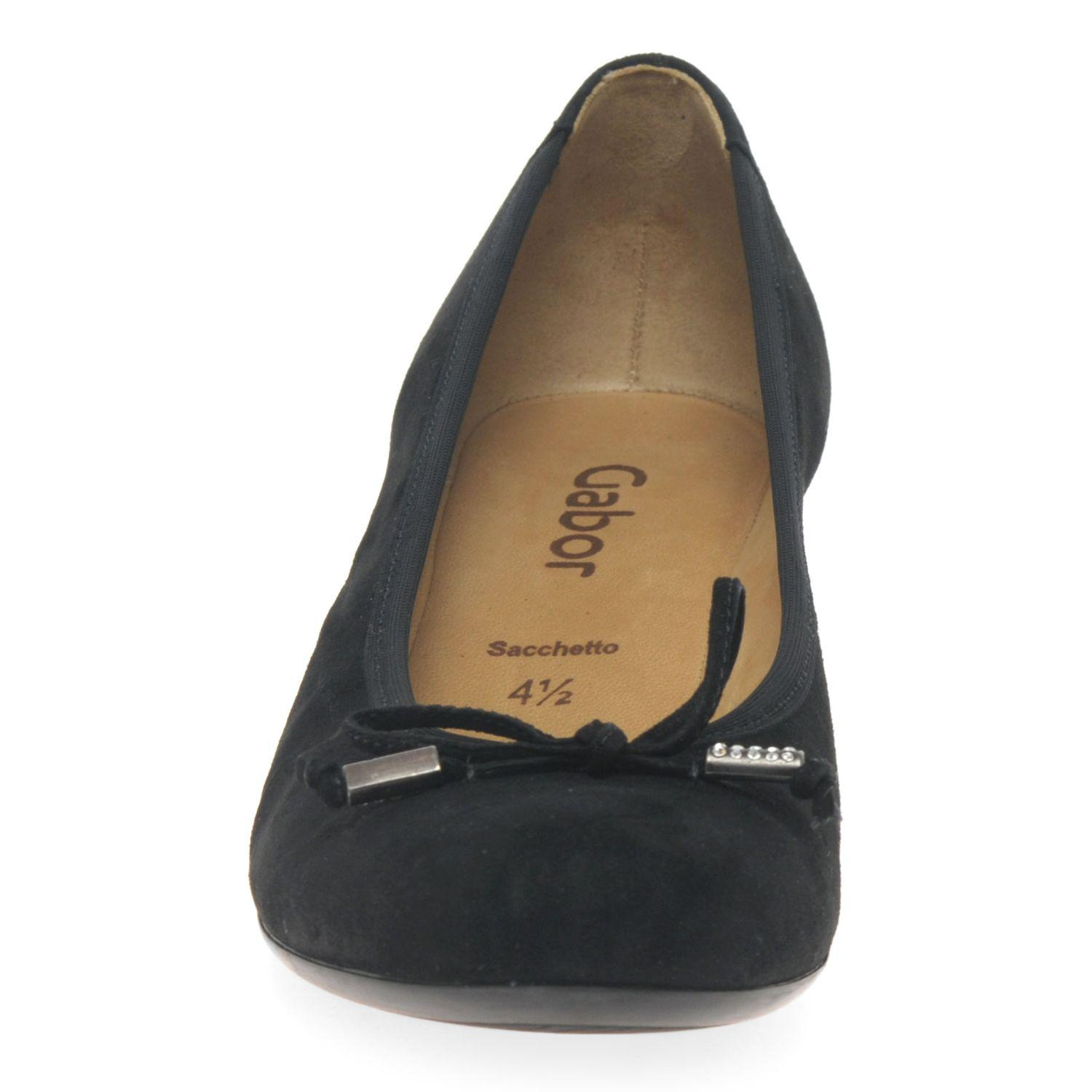 02de7a8d6a8 John Lewis Gabor Alvin Concealed Wedge Heel Court Shoes in Black - Lyst
