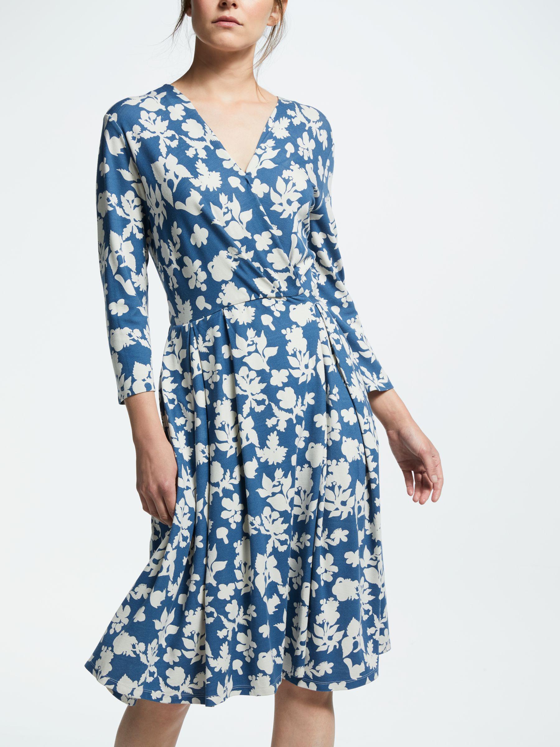 9d3504c086 Weekend by Maxmara Printed Jersey Dress in Blue - Lyst