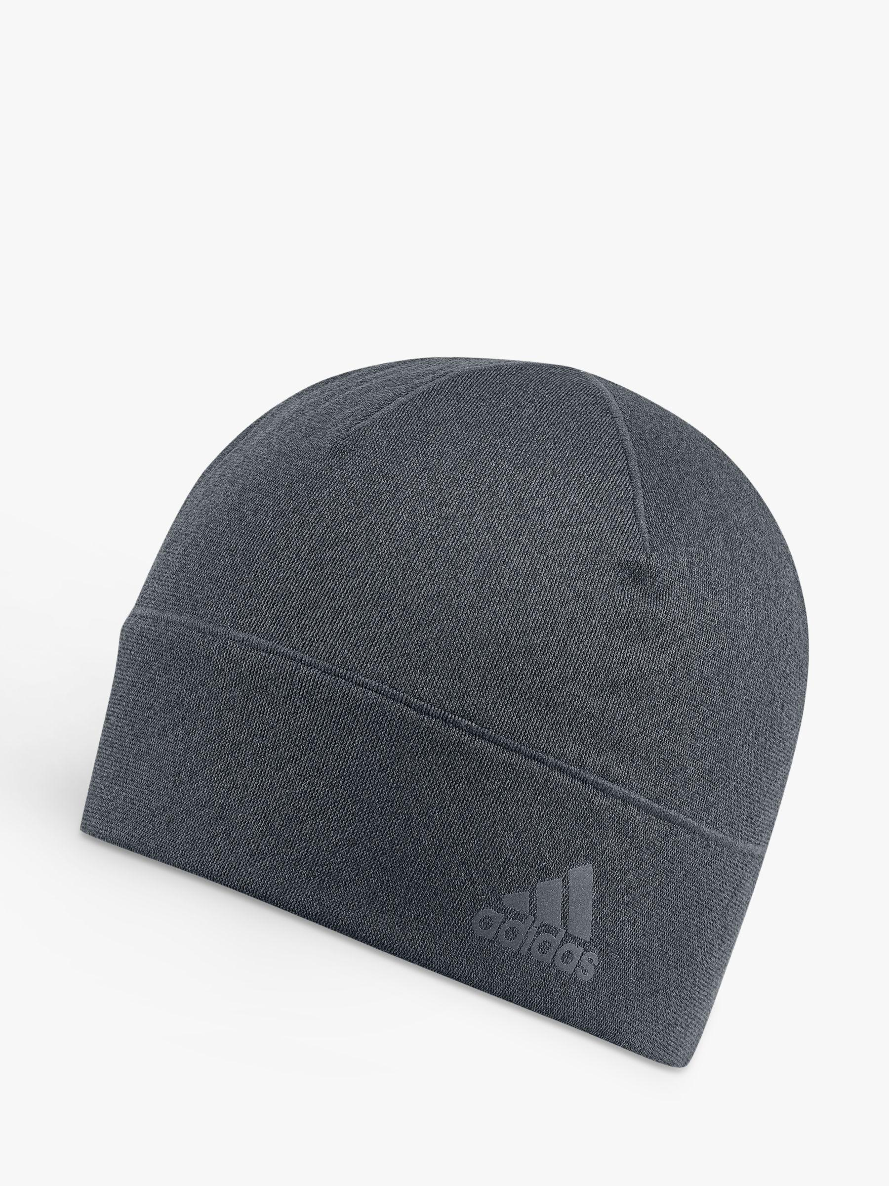 adidas Climaheat Running Beanie Hat in Gray for Men - Lyst dcf1b138891