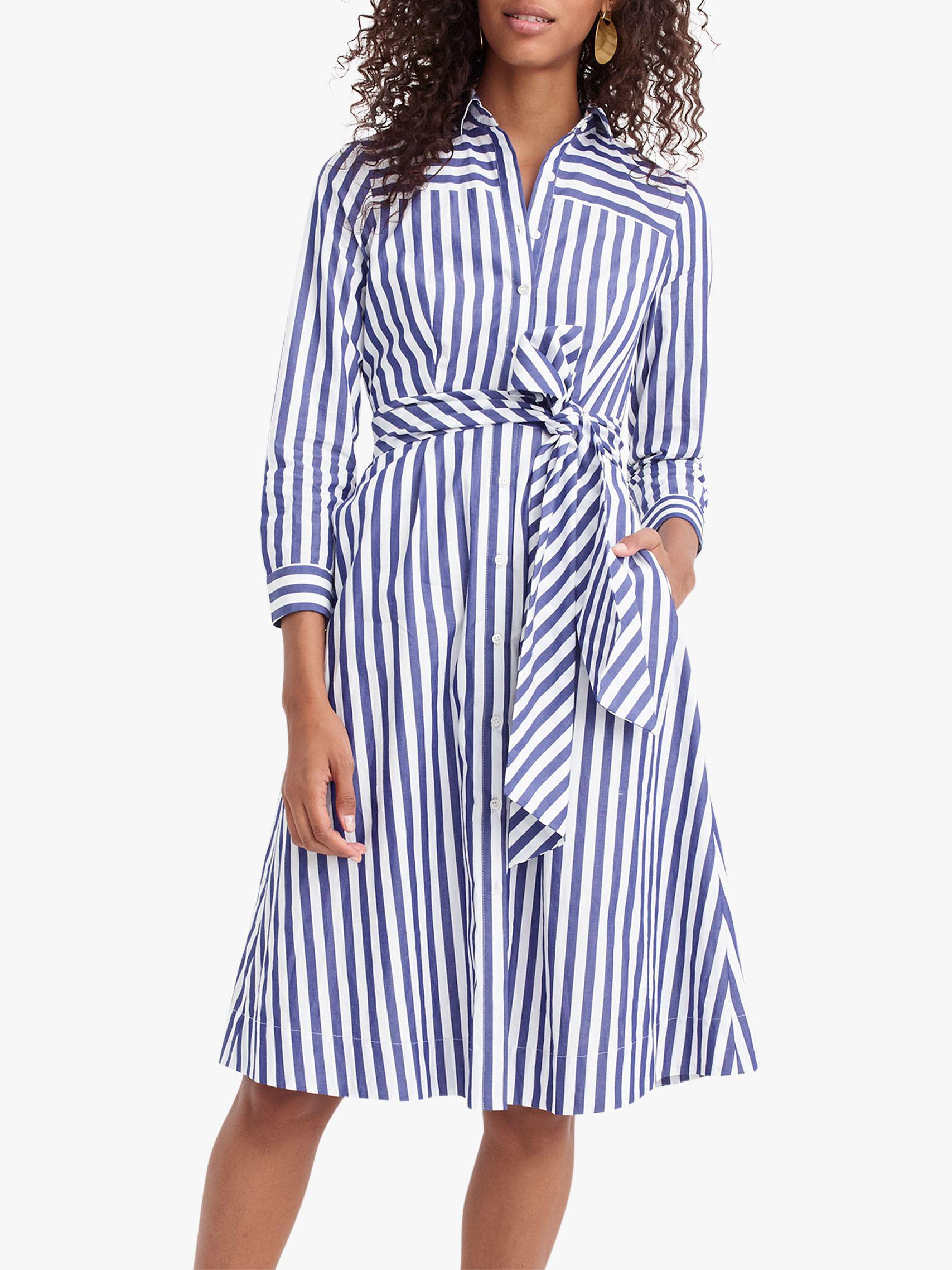 3c18657a607 J.Crew Sybil Tie Waist Shirt Dress in Blue - Save 60% - Lyst