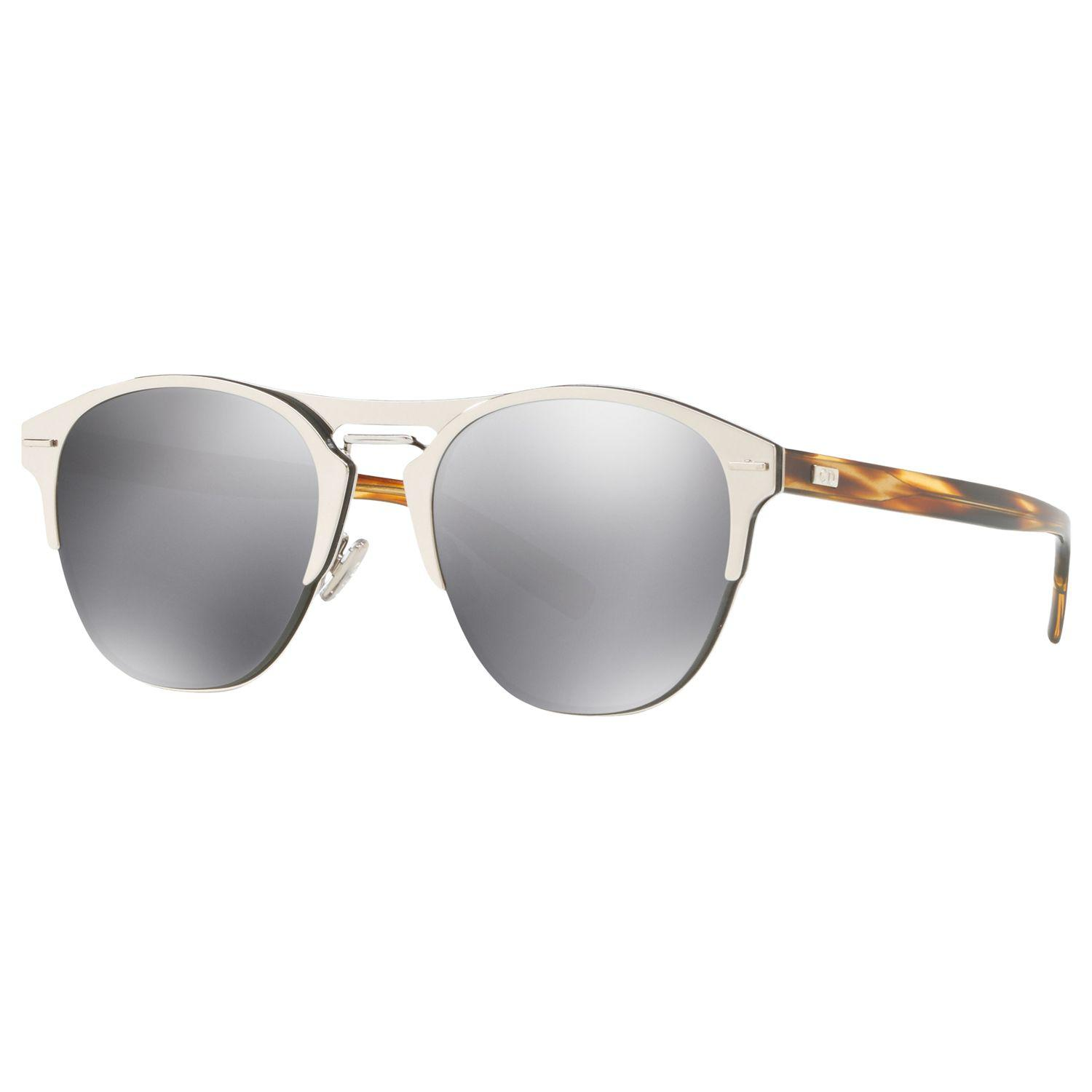 03eb7355405be Dior Chrono Oval Sunglasses in Gray for Men - Lyst