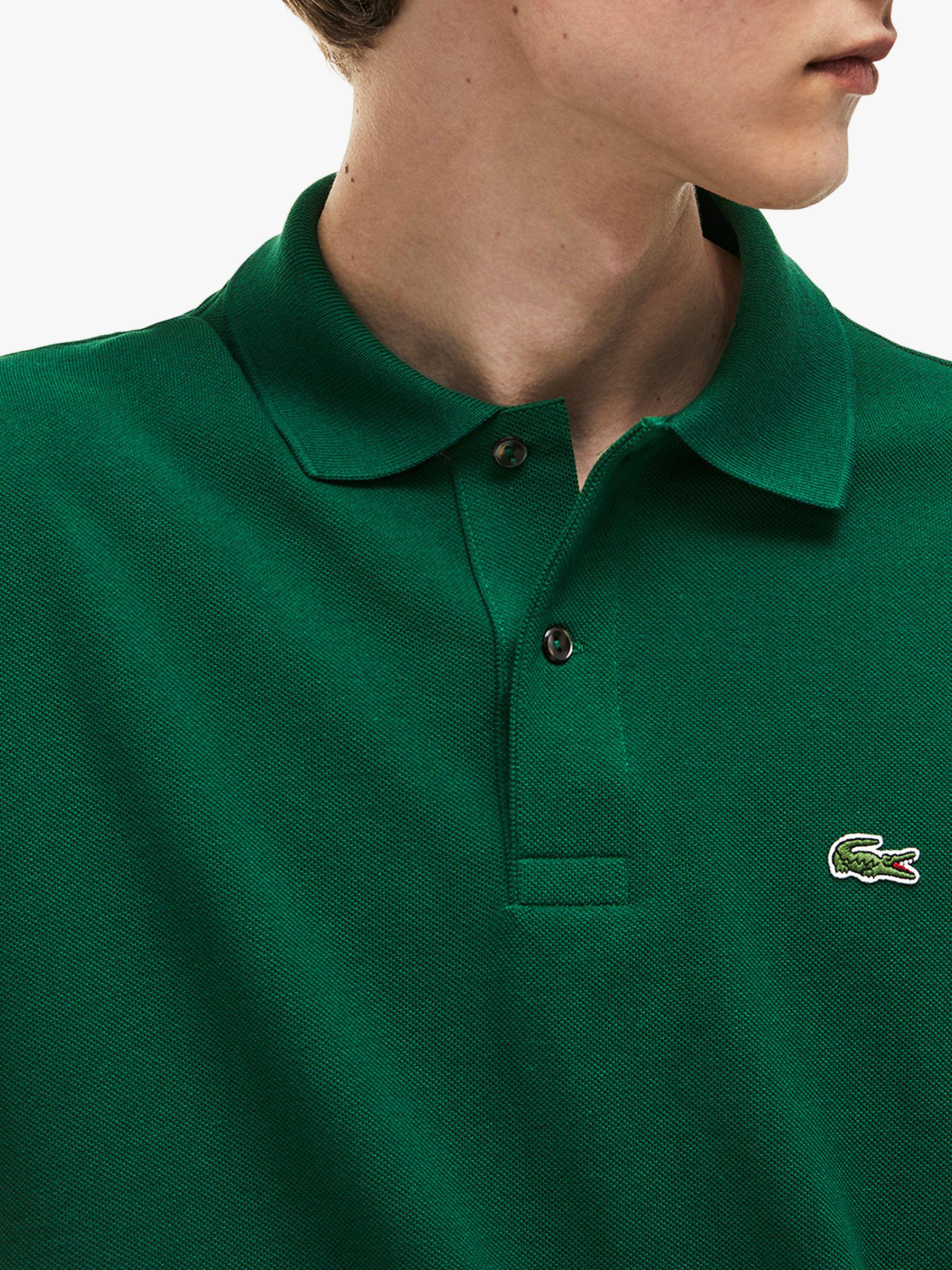 481fc667 Lacoste L.12.12 Classic Regular Fit Short Sleeve Polo Shirt in Green for  Men - Lyst