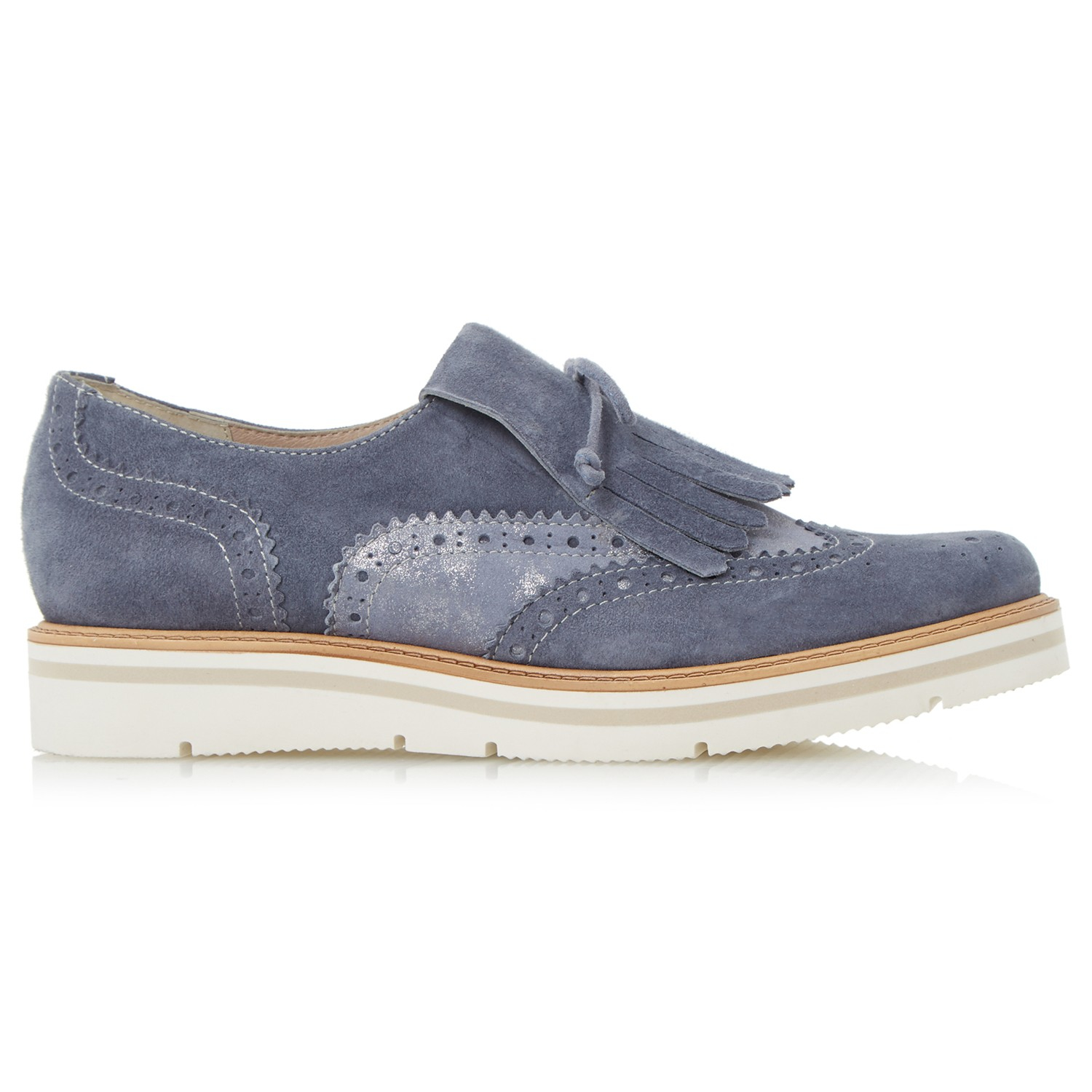 Dune Gravitie Fringed Loafers