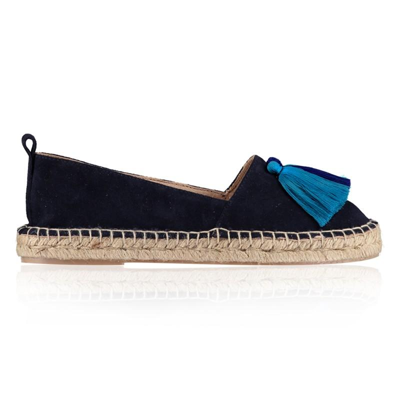 7ca44473dbe Air   Grace Hula Tassel Espadrilles in Blue - Lyst