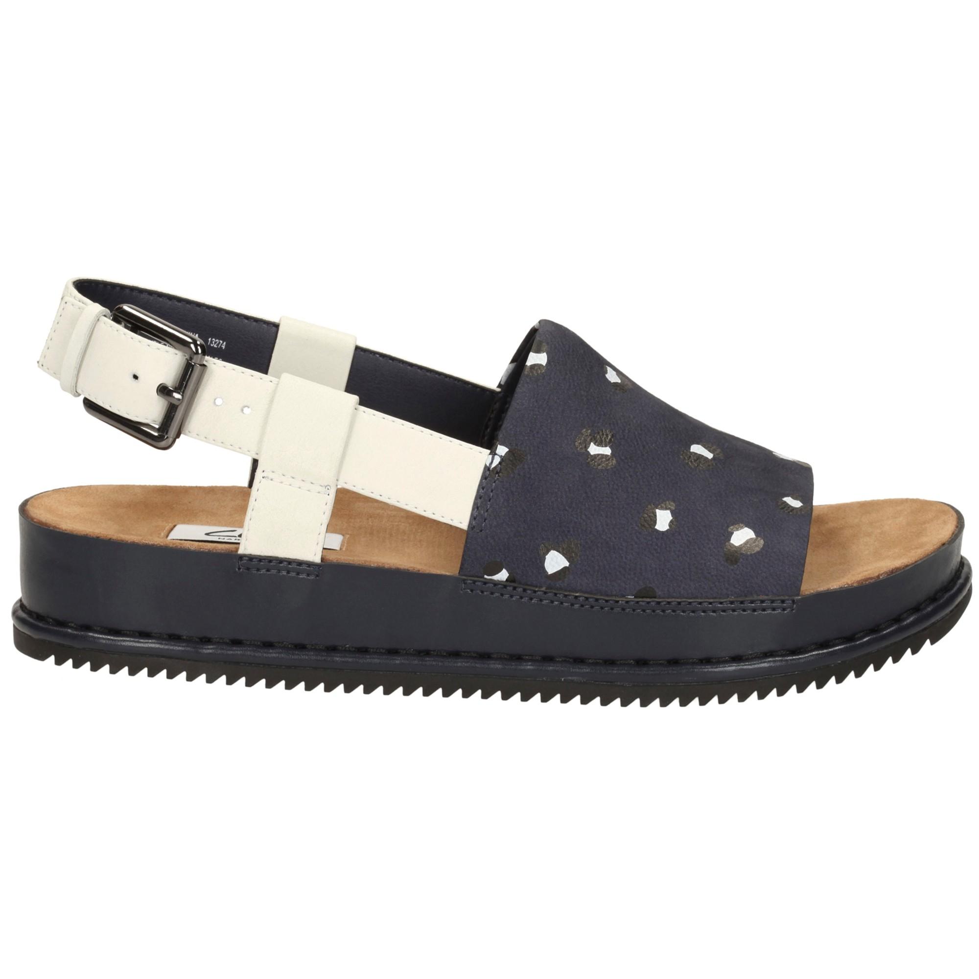 c52415df6a90 Clarks Alderlake May Flatform Sandals - Lyst