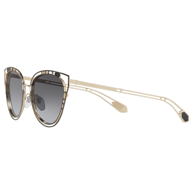 1ce043e483e BVLGARI - Multicolor Bv6104 Women s Cat s Eyes Sunglasses - Lyst. View  fullscreen