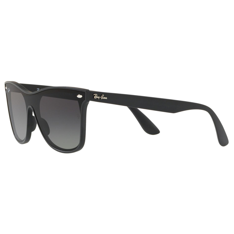 22e825b0935 Ray-Ban - Black Rb4440 Unisex Mirrored Sunglasses - Lyst. View fullscreen