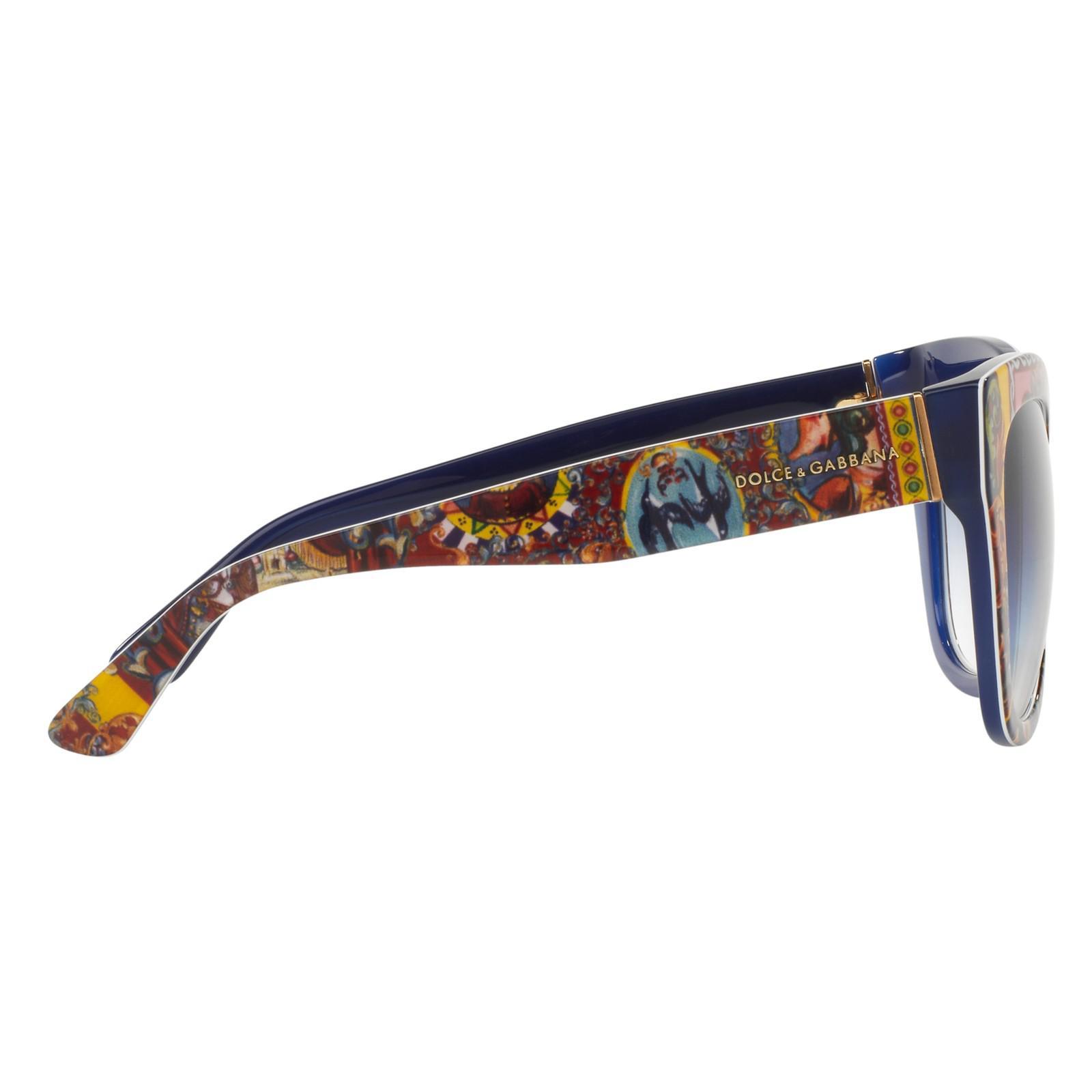 1716f4646a6 Dolce   Gabbana Dg4270 Mama s Brocade Square Sunglasses in Purple - Lyst