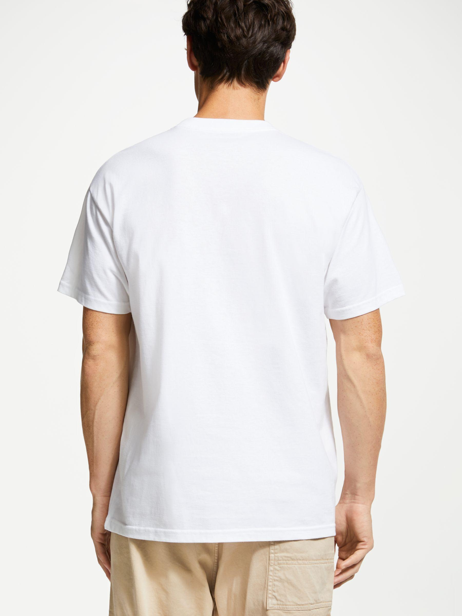 bfc7c7d82 Carhartt WIP Hud Short Sleeve Graphic T-shirt in White for Men - Lyst