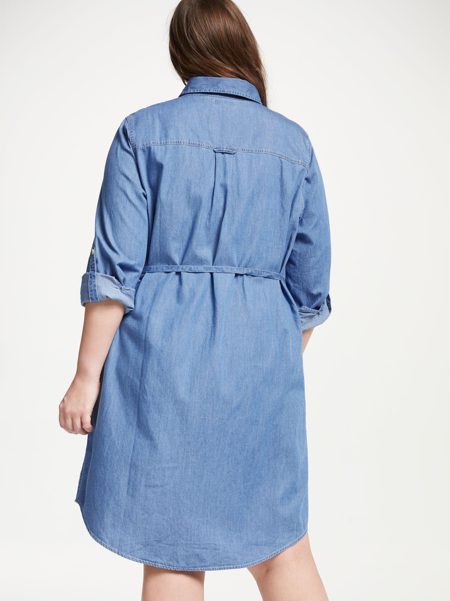 16daae5bf76 Levi s Plus Bebe Denim Dress in Blue - Lyst