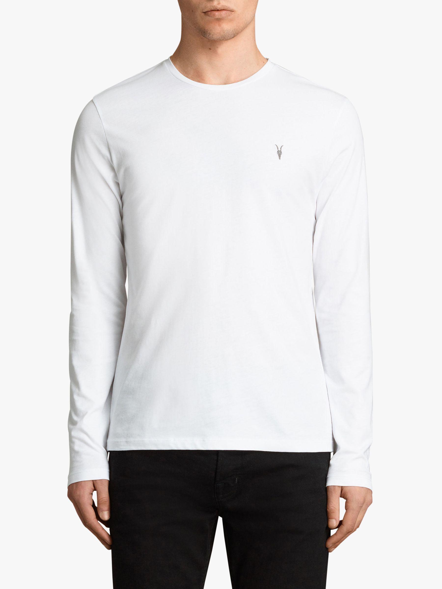 ee7eb16ab AllSaints Brace Long Sleeve Crew T-shirt for Men - Lyst