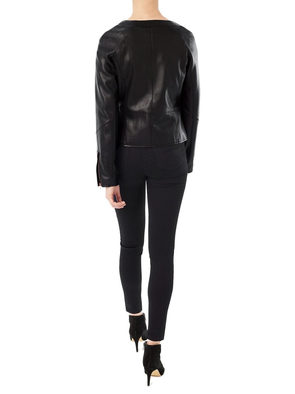 Jeff banks leather jacket