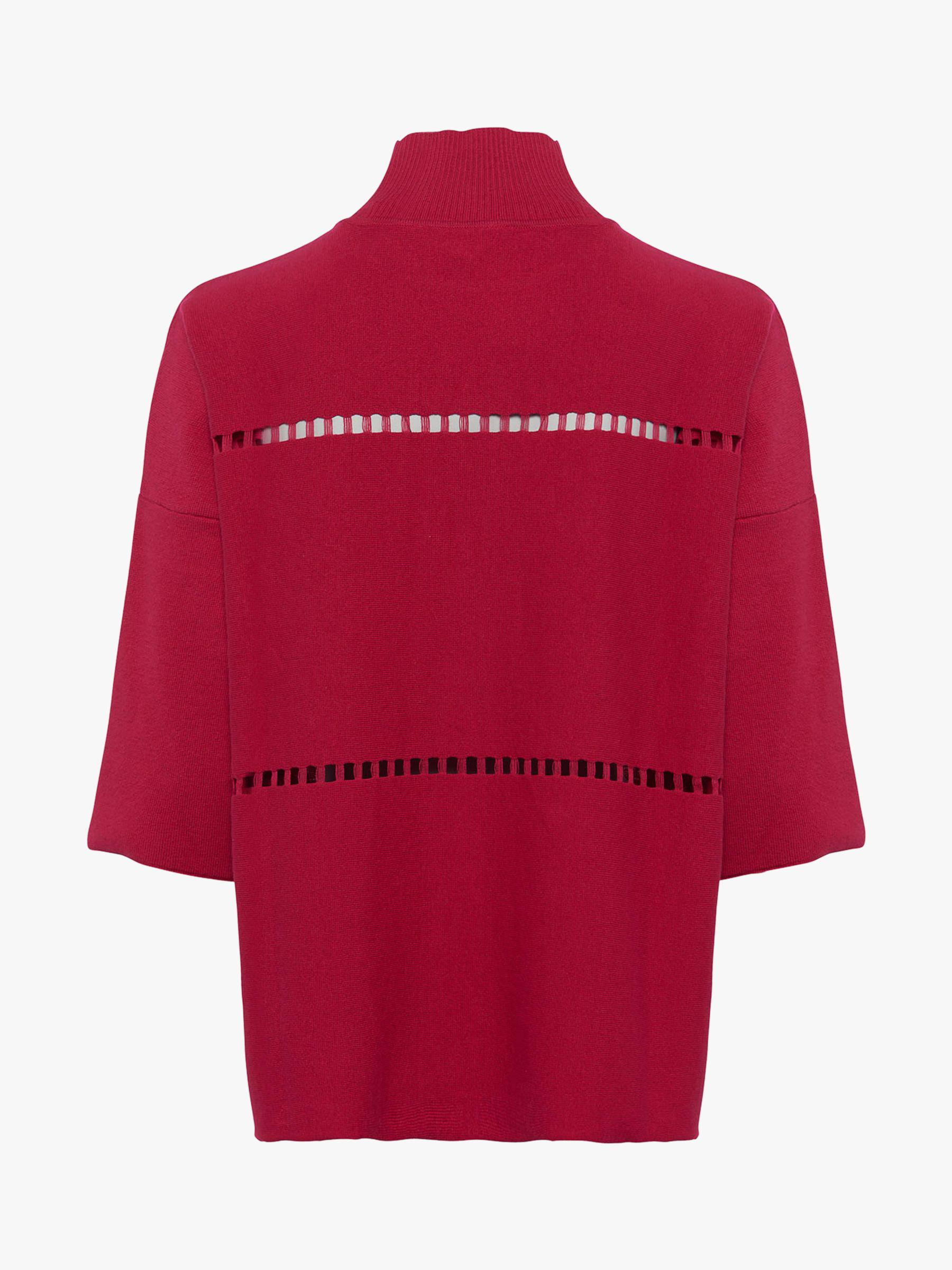 8cbb015928b French Connection Milano High Neck Jumper in Red - Lyst
