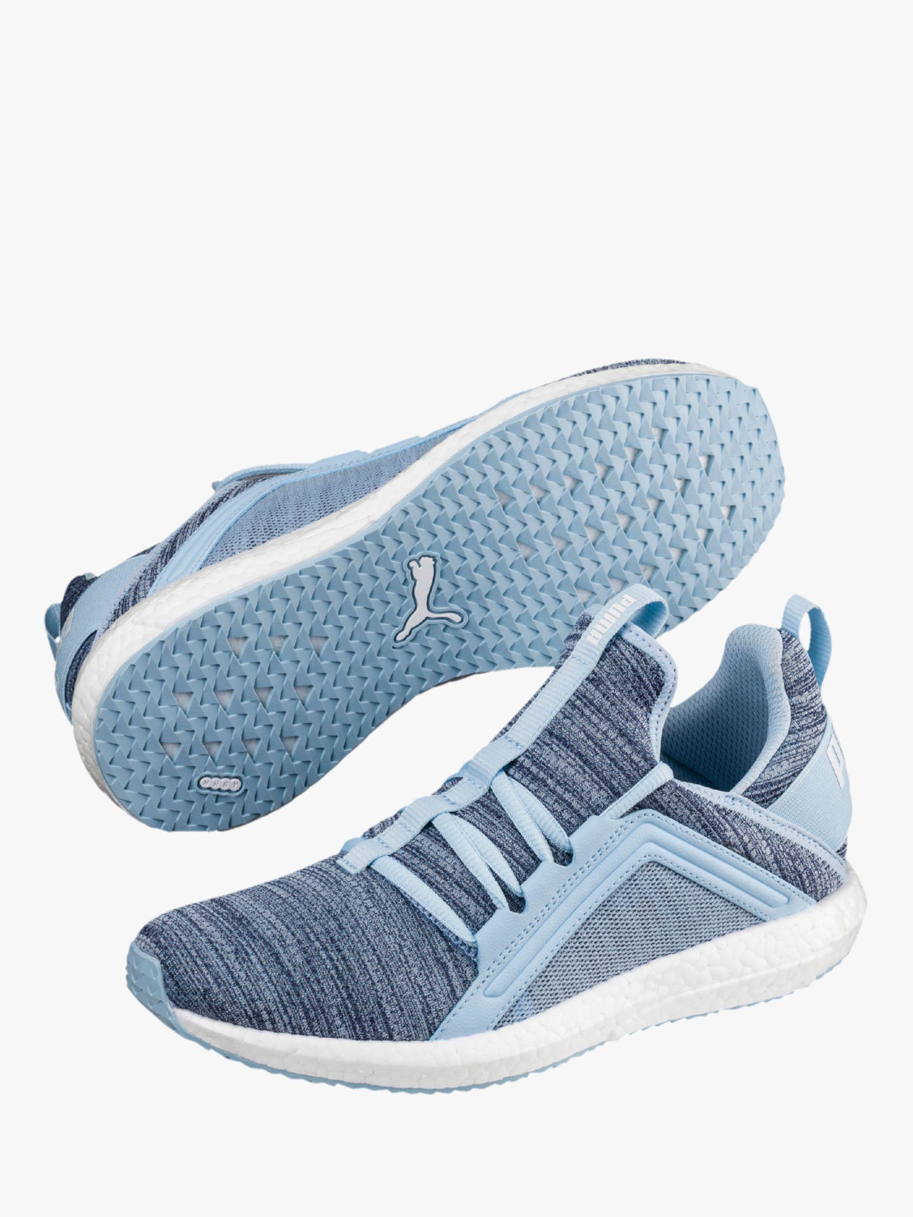 PUMA Ignite Flash Evoknit Women s Running Shoes in Blue - Lyst 51e16df8b