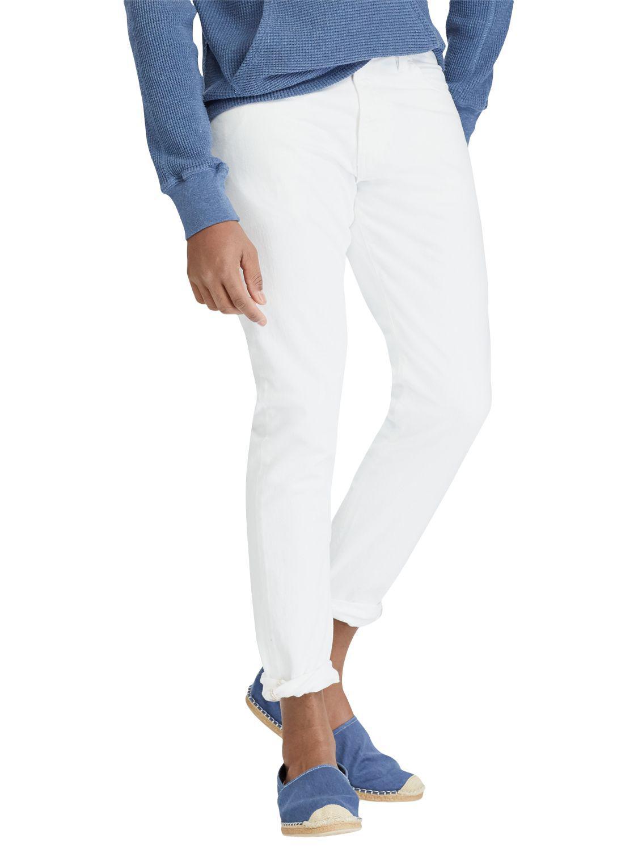 Sullivan Slim-fit Stretch-denim Jeans - WhitePolo Ralph Lauren Boutique Vente En Ligne Clairance Nicekicks Où Trouver yl8lVFpDZ