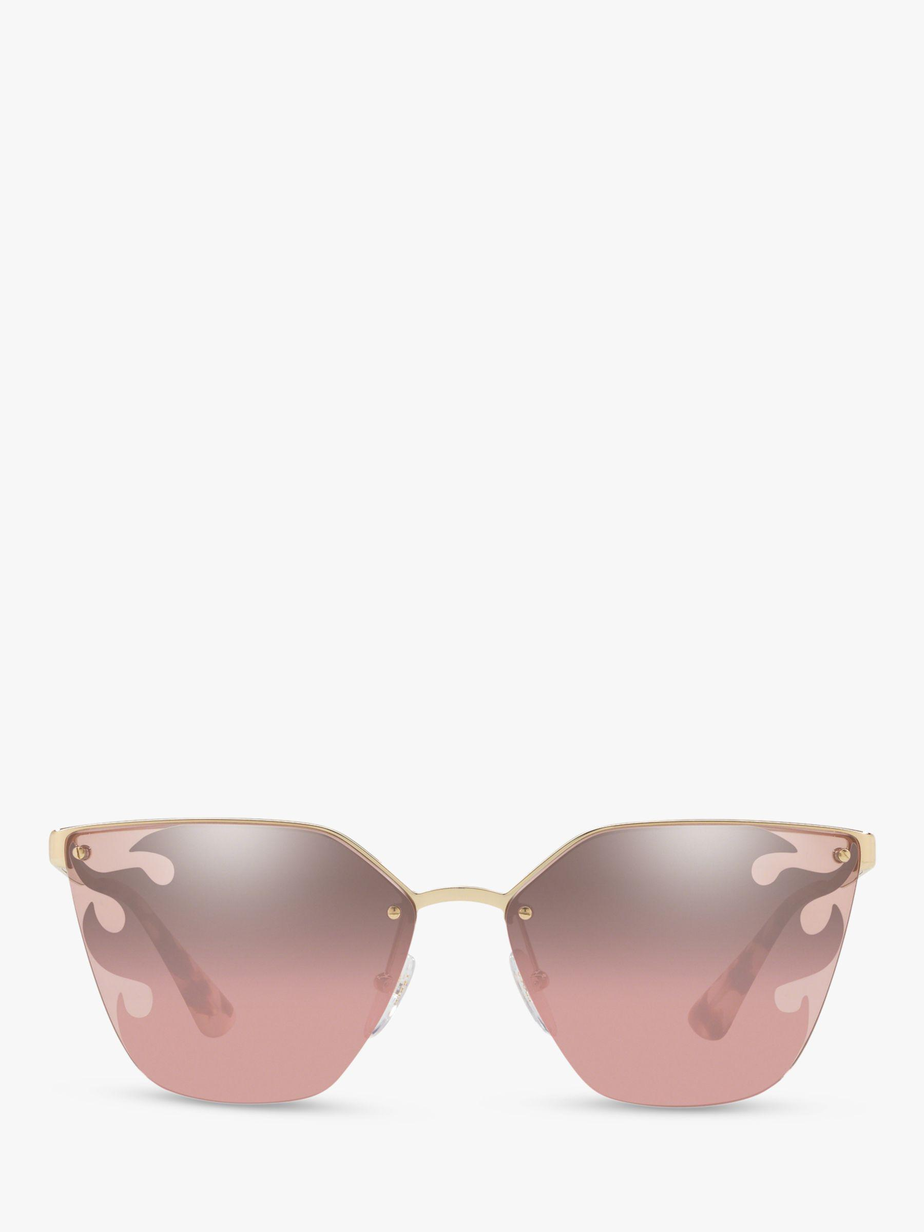 30a433e6ec2 Prada Pr 68ts Women s Cat s Eye Sunglasses in Pink - Lyst