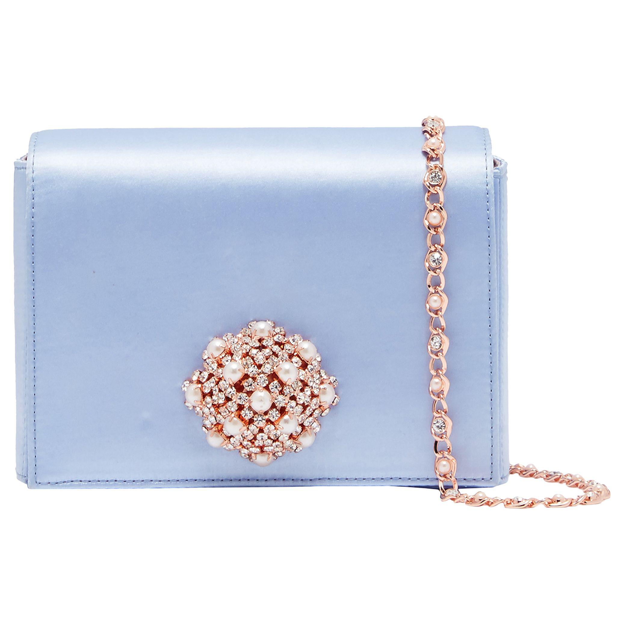 6b00dad6f78 Ted Baker Selinaa Clutch Bag in Blue - Lyst