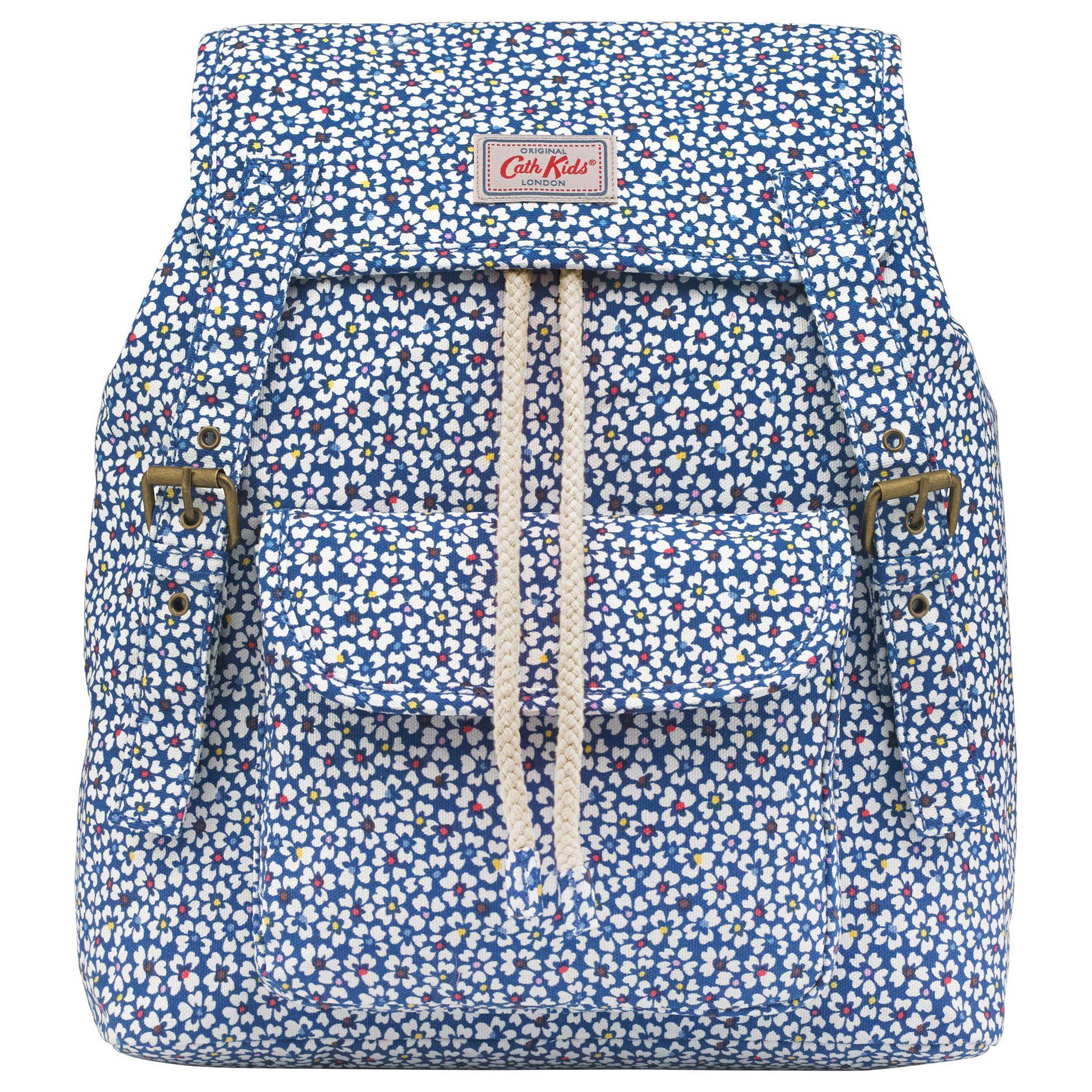 70f578e7a2 Cath Kidston Children's Friendship Flowers Junior Backpack in Blue ...