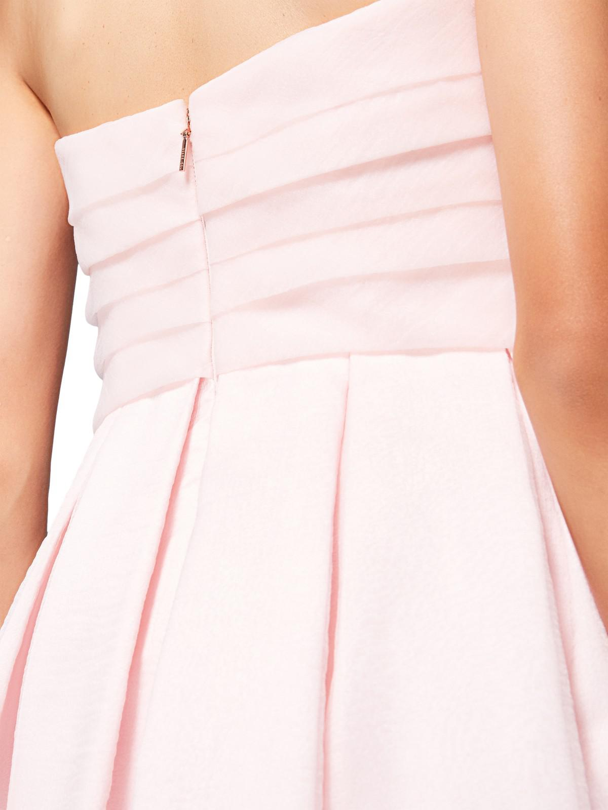 637f1cf9d John Lewis Ted Baker Bandu Tiered Maxi Dress in Pink - Lyst