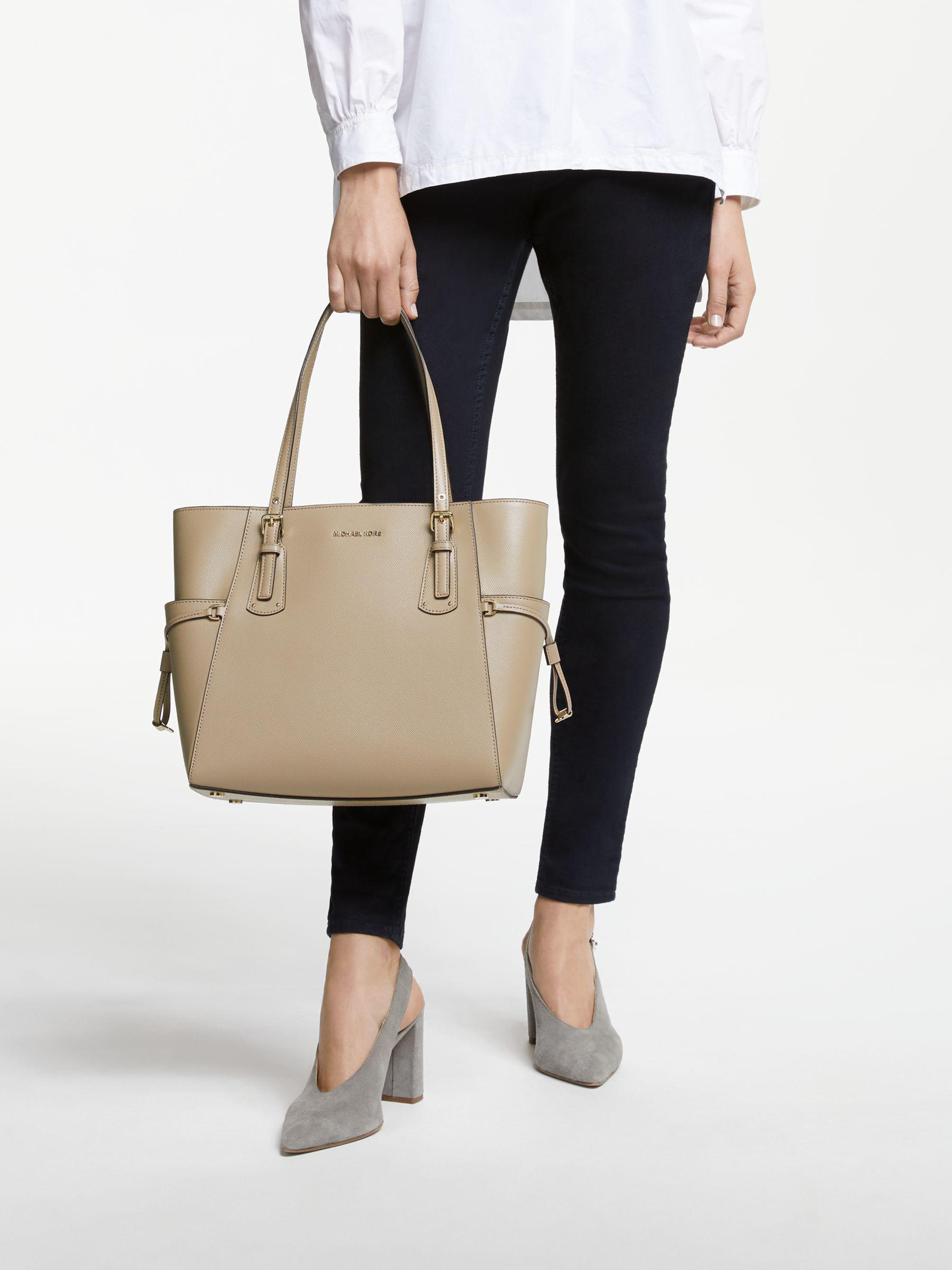74f153afe4c3 Michael Kors - Multicolor Michael Voyager East West Leather Tote Bag -  Lyst. View fullscreen