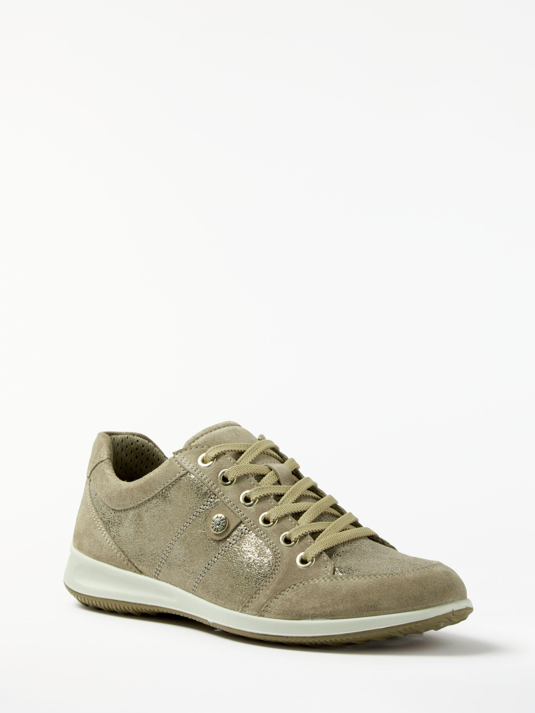 f57659a89c10 John Lewis Designed For Comfort Elyse Lace Up Trainers in Natural - Lyst