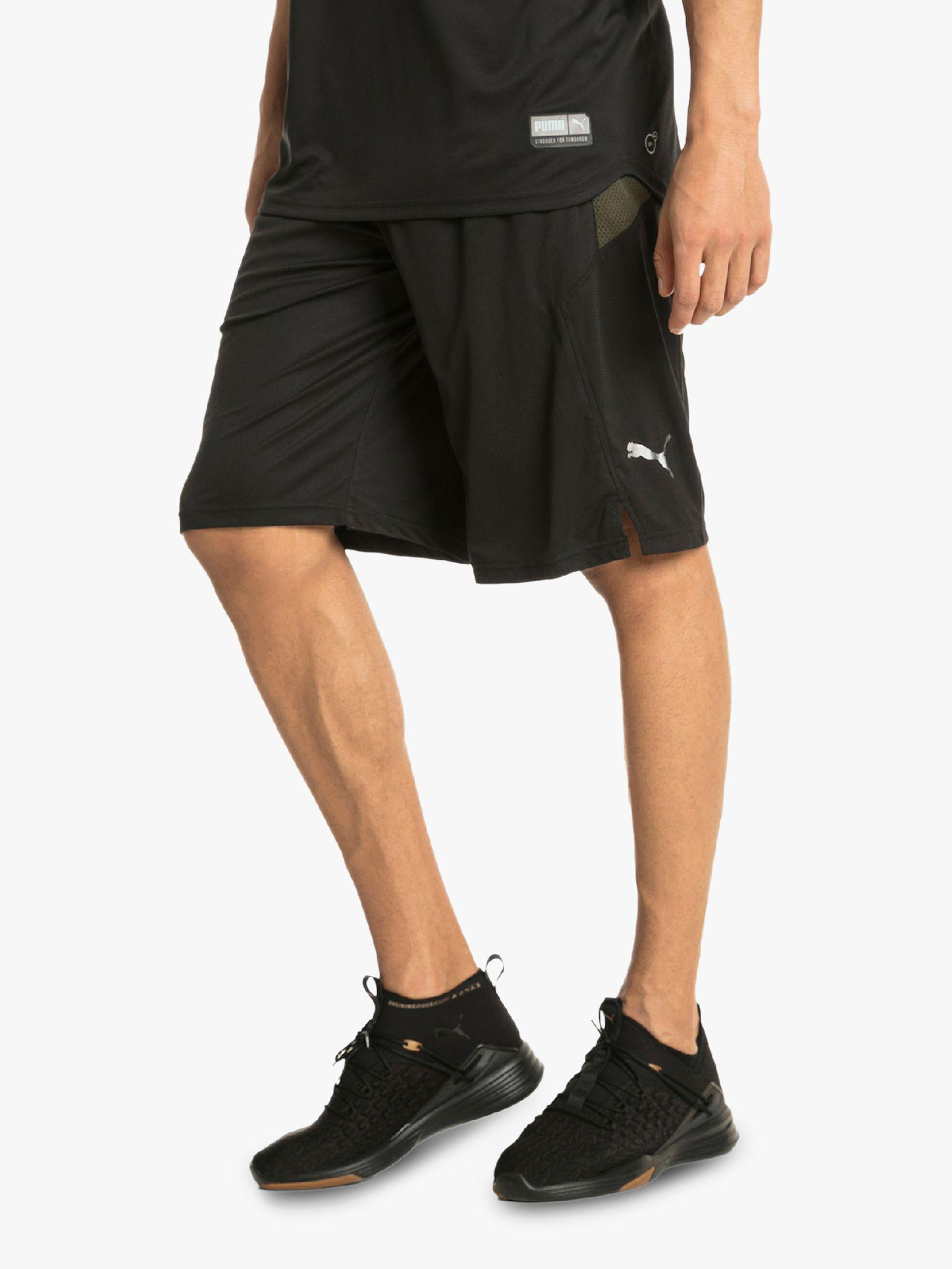 size 40 e9907 1baa3 PUMA. Mens Black Energy Knit Mesh Running Shorts. £30 From John Lewis ...
