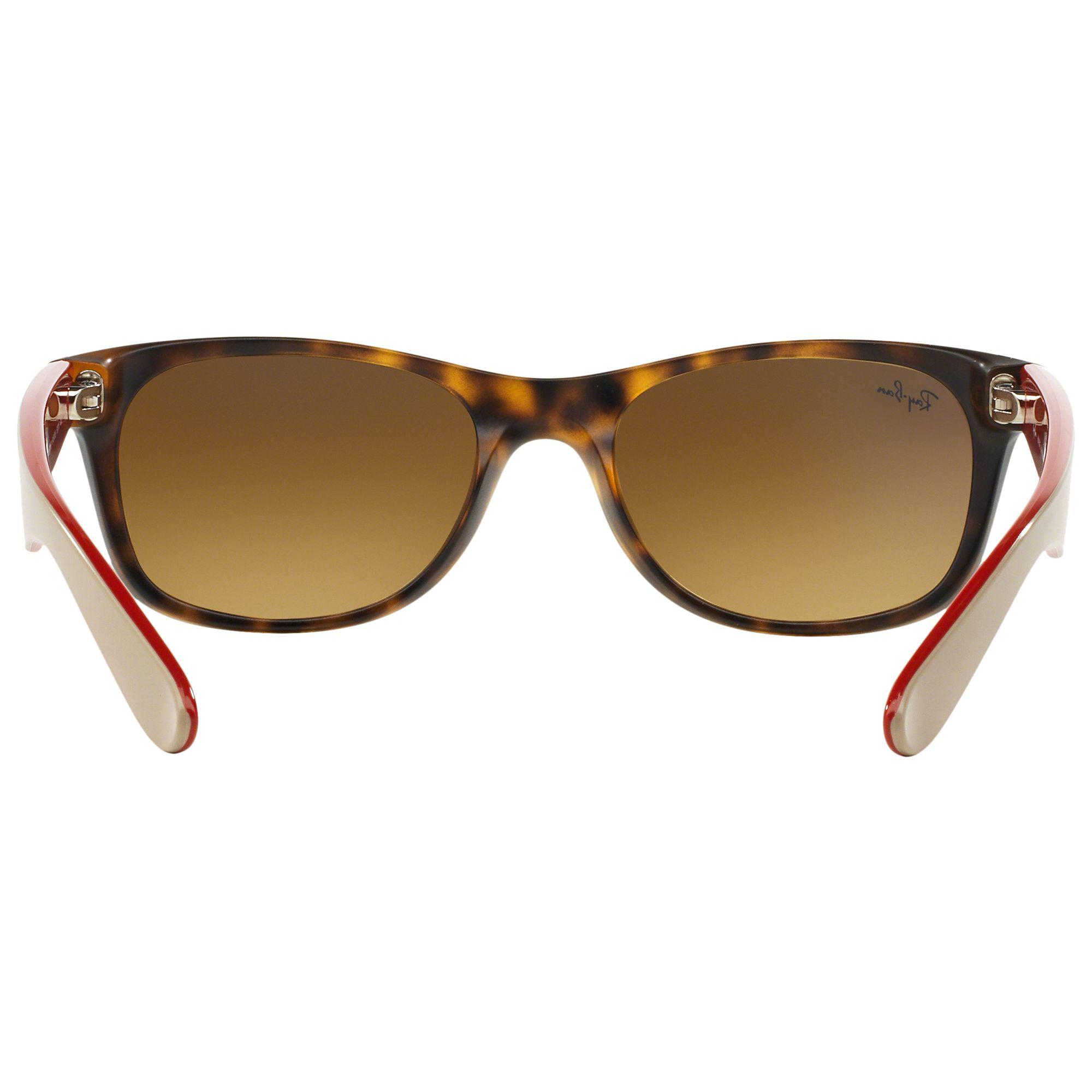 19d9046620 Ray-Ban Rb2132 New Wayfarer Square Sunglasses in Brown - Lyst