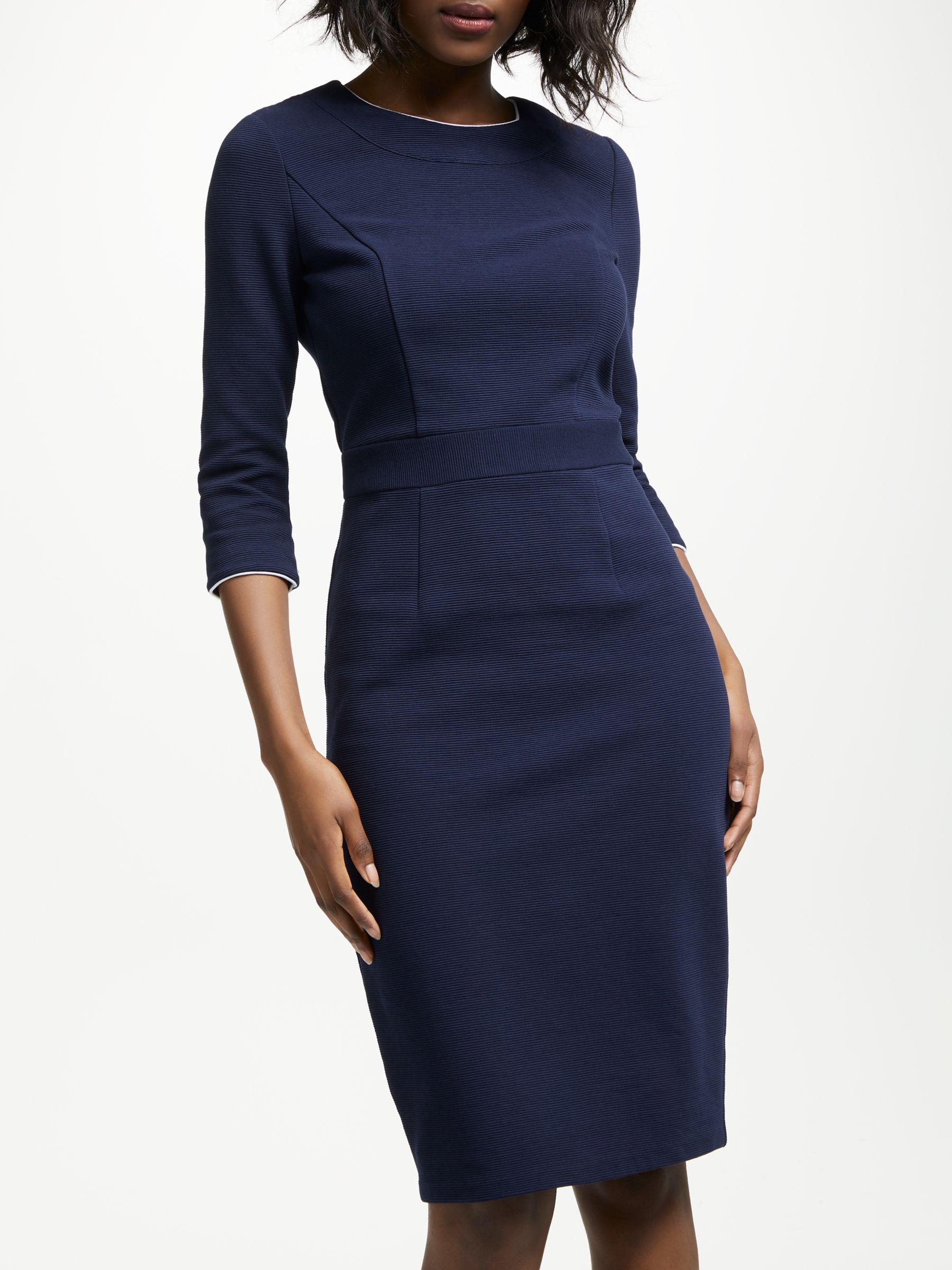 bded3ec102d Boden Mia Ottoman Dress in Blue - Lyst