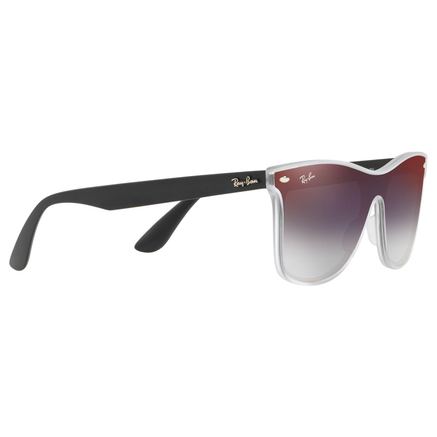 80a5501509 Ray-Ban Rb4440 Unisex Mirrored Sunglasses in Red for Men - Lyst