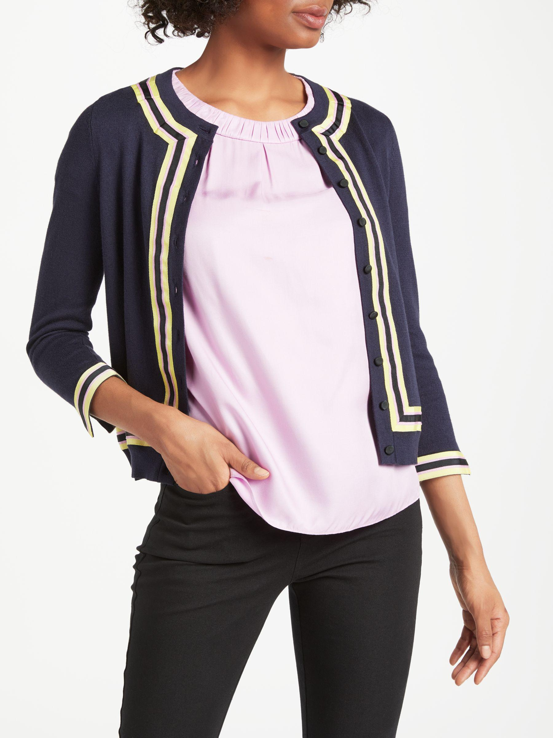 Boden Abigale Cardigan In Blue Lyst