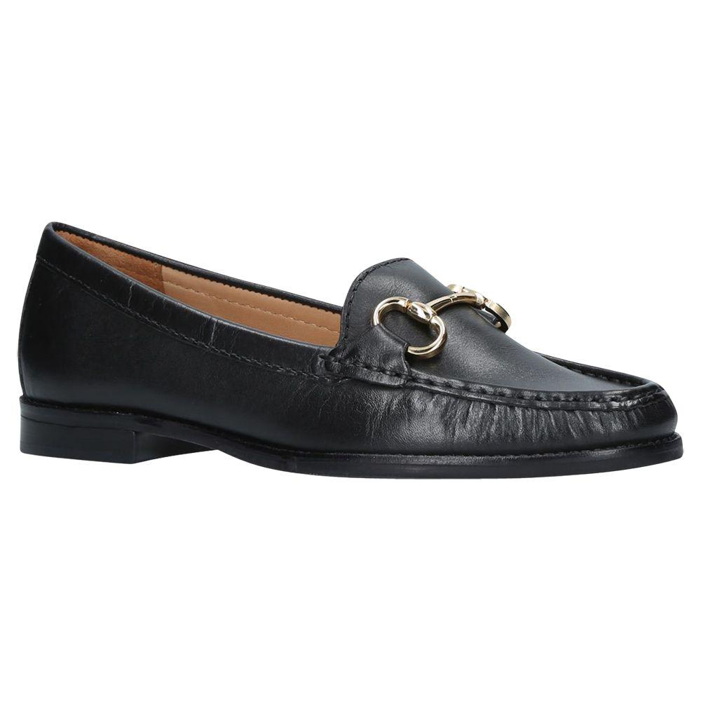In Lyst Loafers Black Leather Kurt Geiger Click Carvela x6qX0Fq