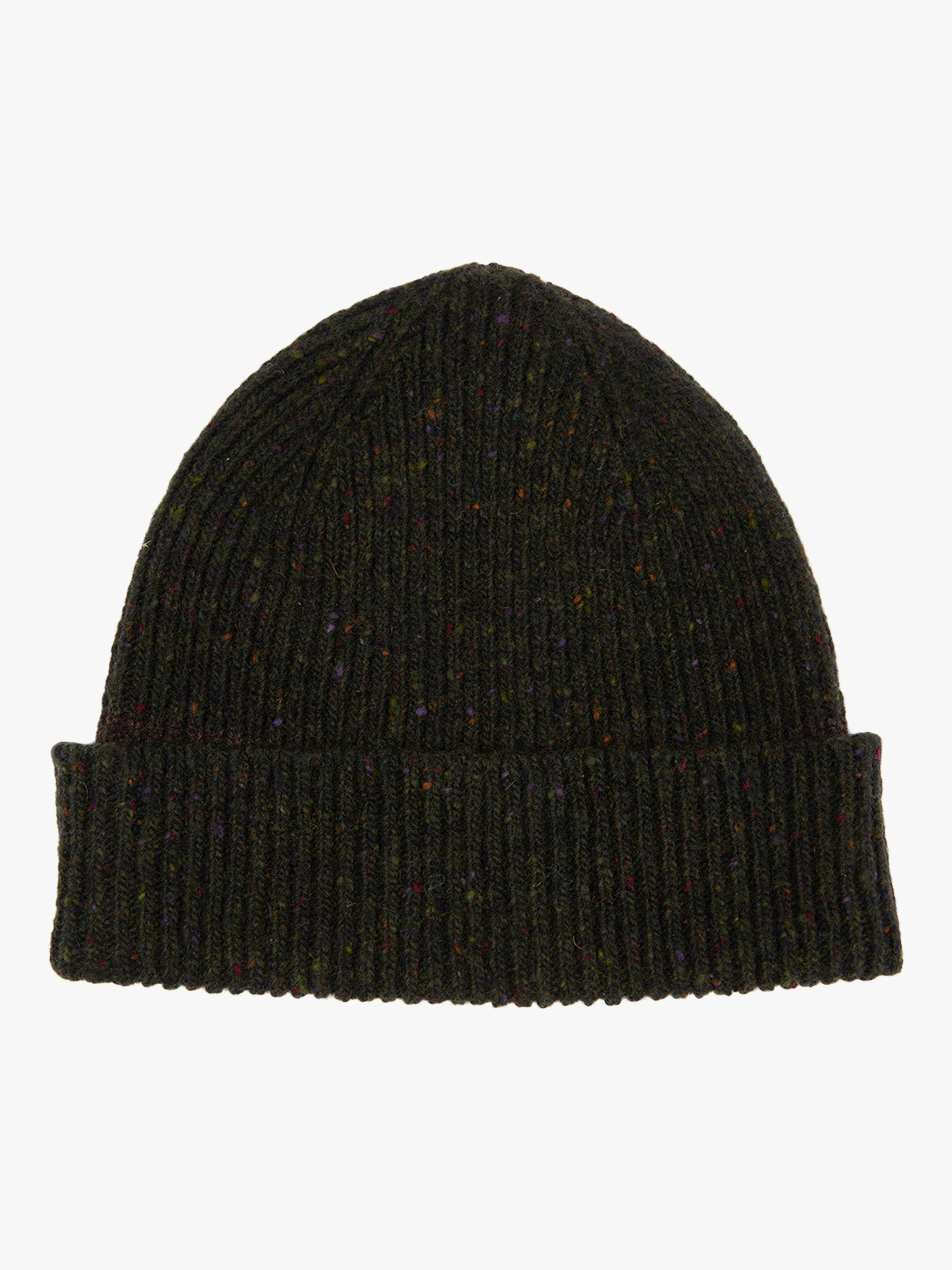 Barbour Lowerfell Donegal Wool Beanie in Black for Men - Lyst e065f37c1bec
