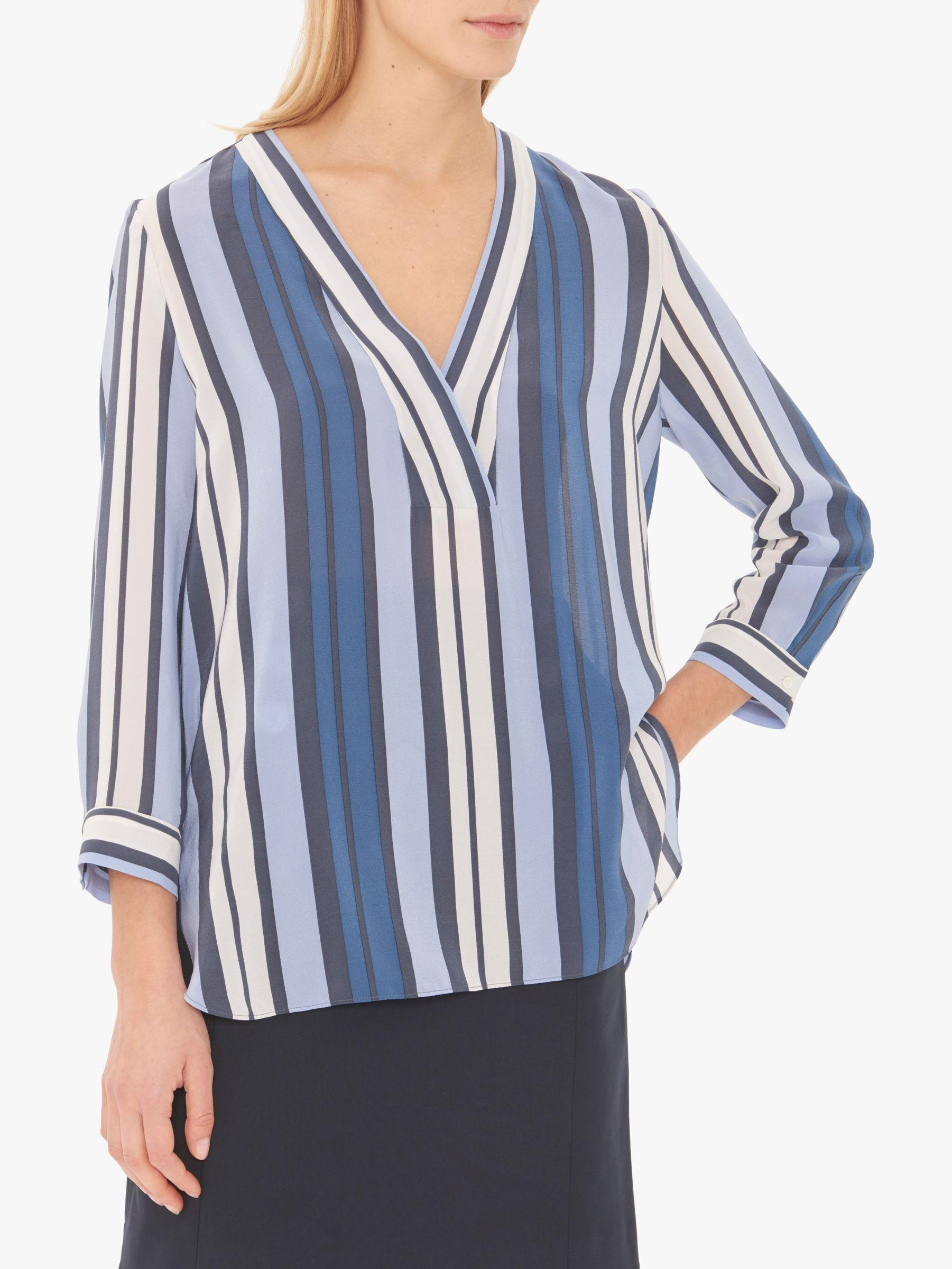 931d1c25b32c2 Gerard Darel Emily Blouse in Blue - Lyst