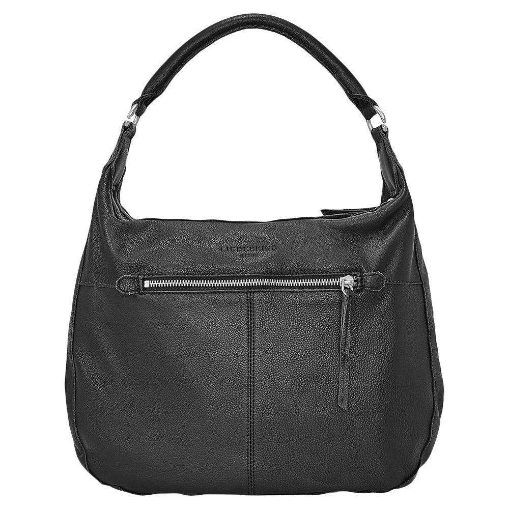 f963cda18b4 Liebeskind Berlin Pazia 6 Leather Vintage Shoulder Bag in Black - Lyst