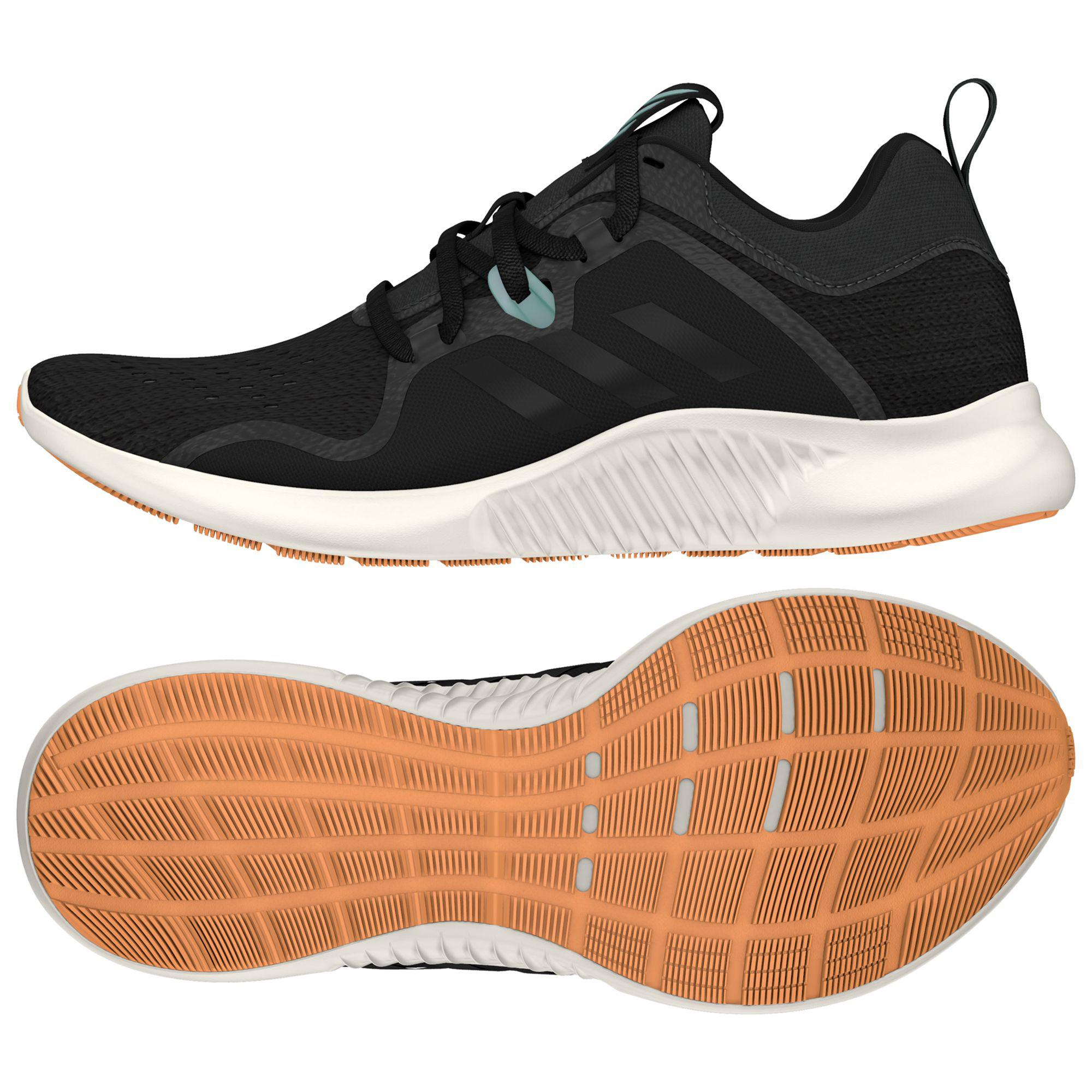 a5add994623cb adidas Edge Bounce Women s Running Shoes in Black - Lyst