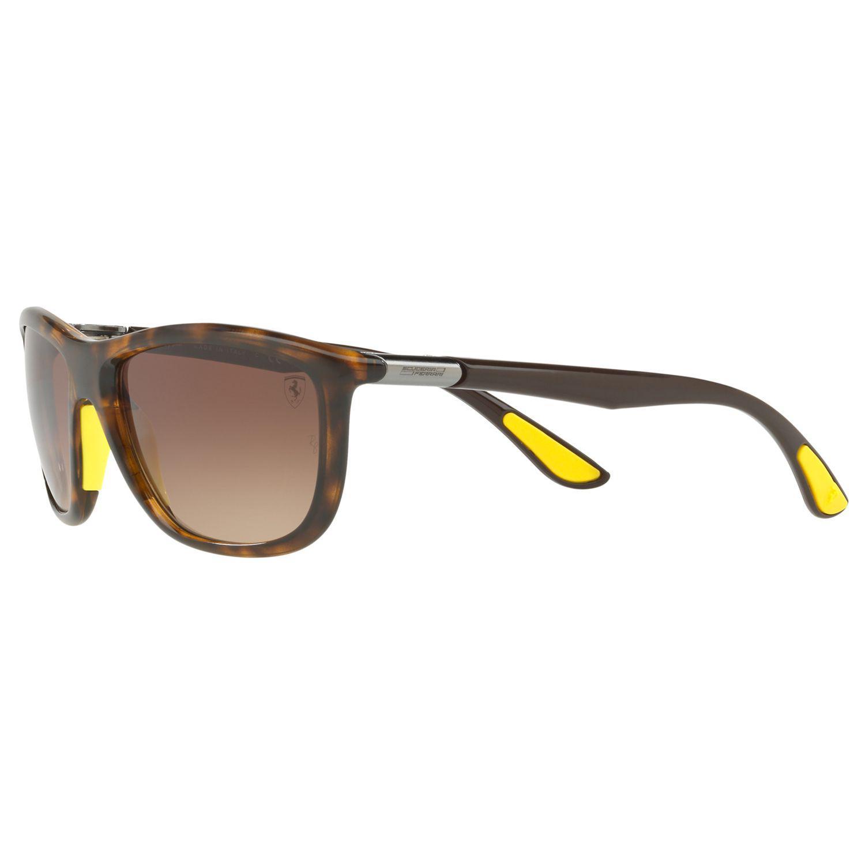 d628ea21c16 Ray-Ban - Brown Rb8351m Scuderia Ferrari Square Sunglasses for Men - Lyst.  View fullscreen