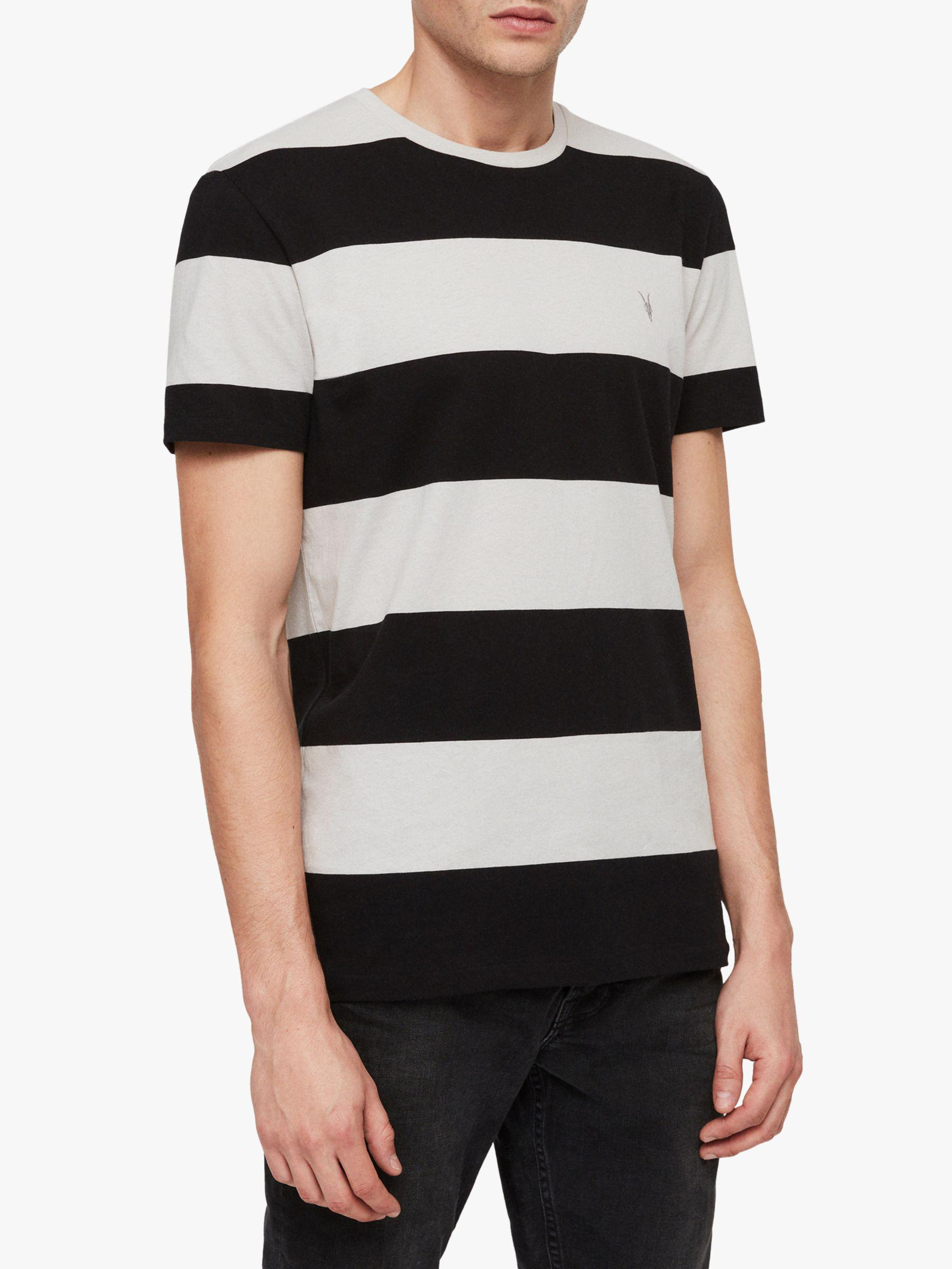 191d1927 AllSaints Gella Crew T-shirt in Black for Men - Save 40% - Lyst