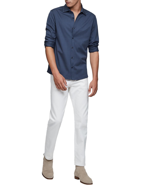 Latest Cheap Reiss Jason Pique Shirt for Men Sale Online