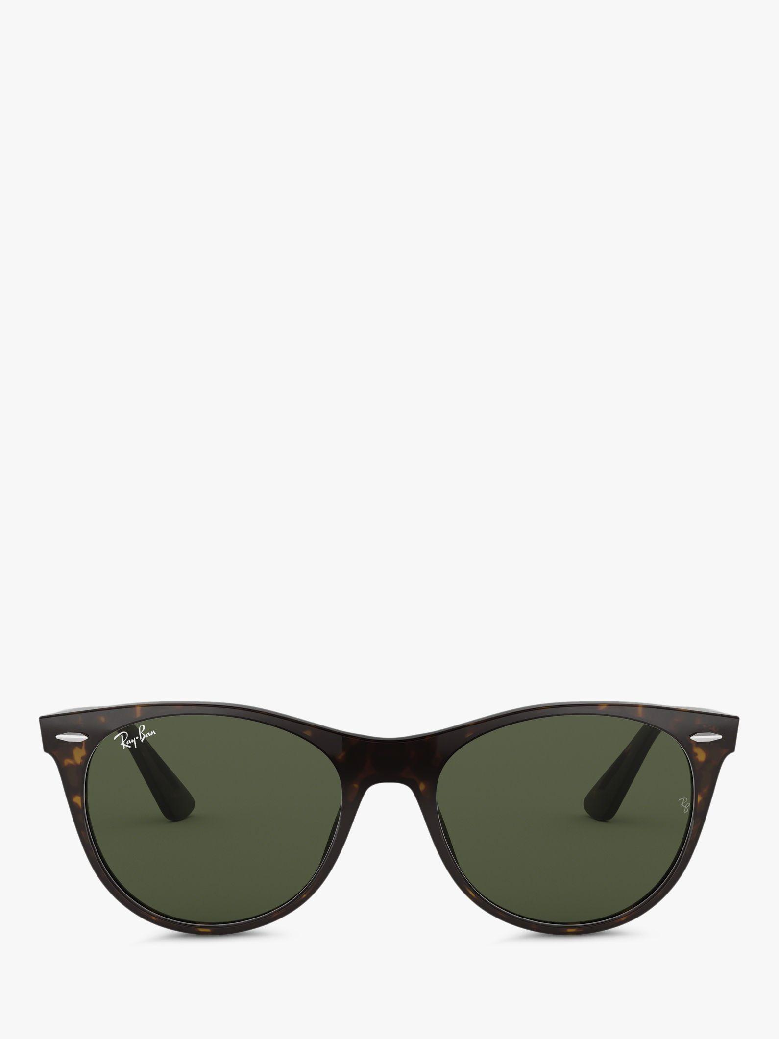 a77878fe87 Ray-Ban - Green Rb2185 Women s Wayfarer Ii Evolve Sunglasses - Lyst. View  fullscreen