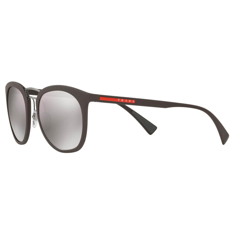 69c97ccc6ecf8 Prada Ps 04ss Polarised Oval Sunglasses - Lyst