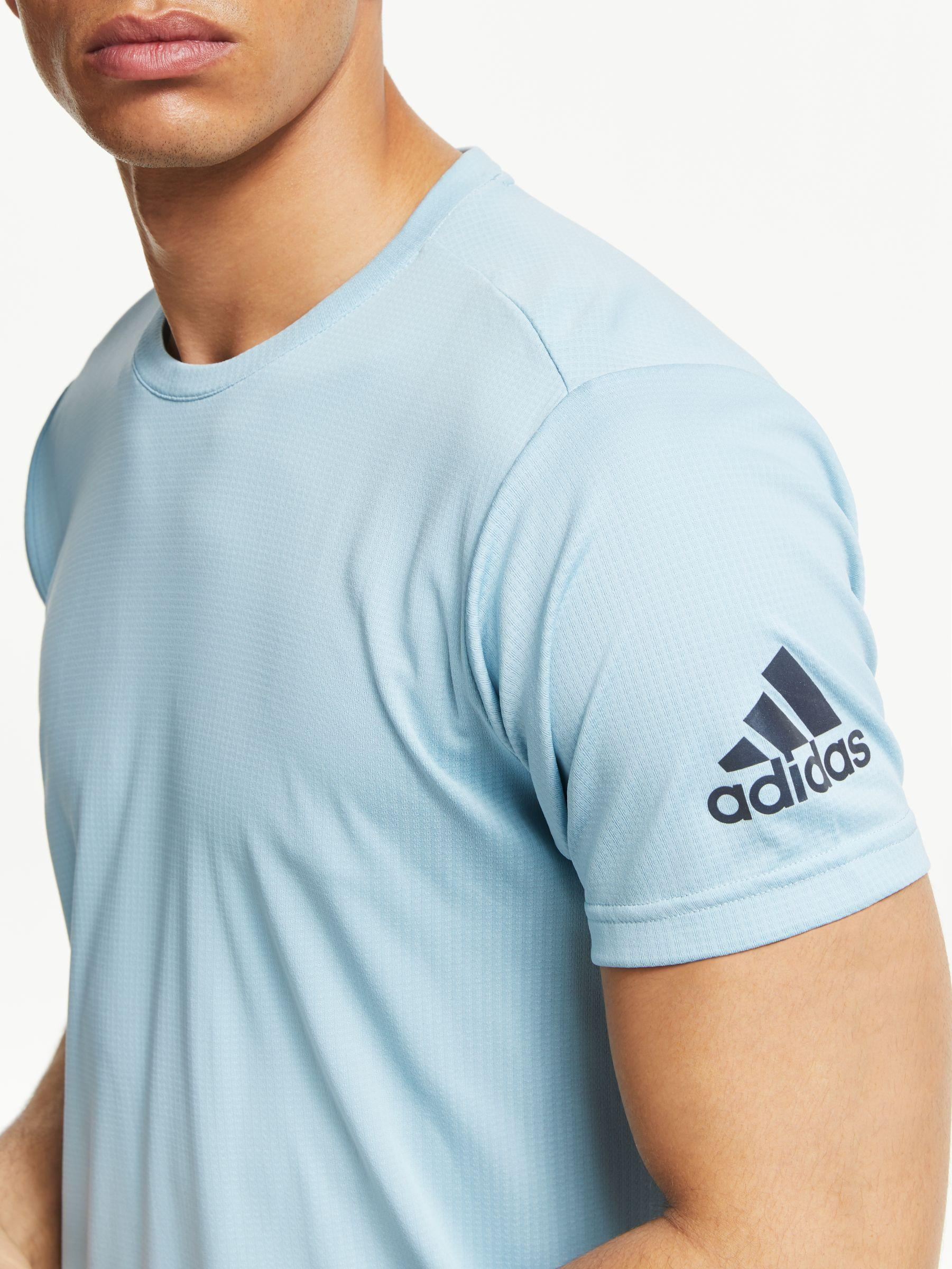 adidas Freelift Climacool Training T shirt in Blue for Men