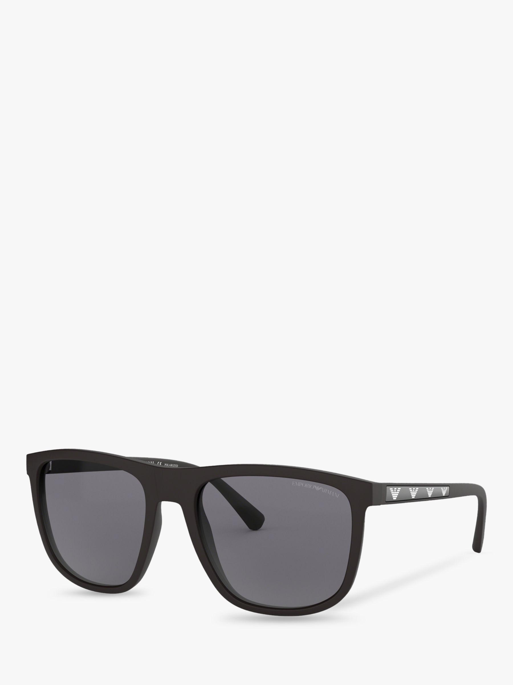 add596a5fc7 Emporio Armani Ea4123 Men s Square Sunglasses in Black for Men - Lyst